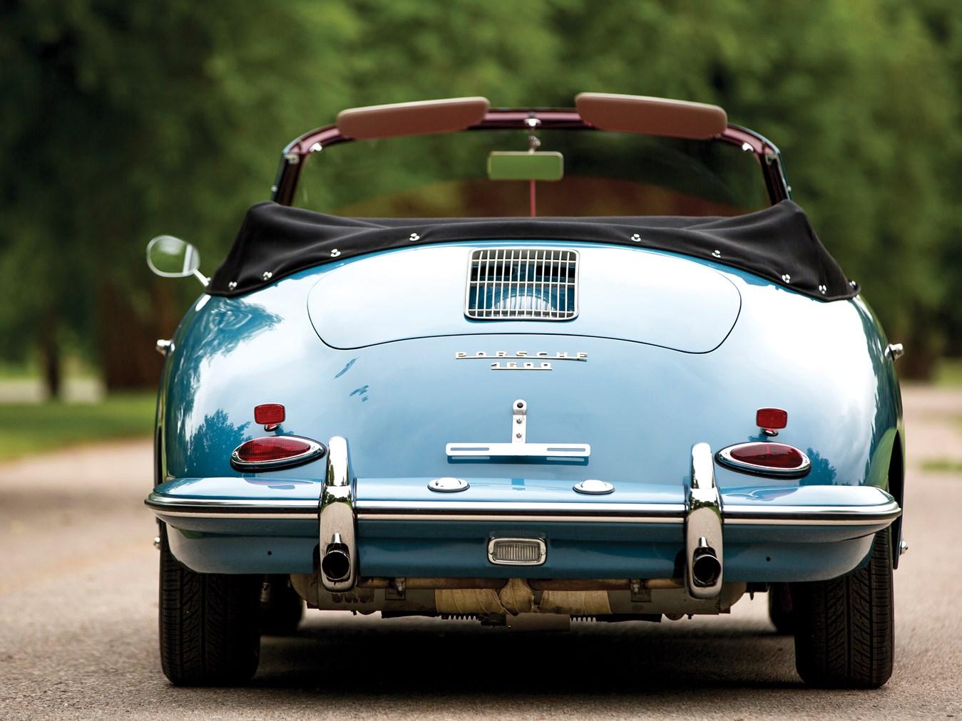 1961 Porsche 356 B 1600 Cabriolet by Reutter