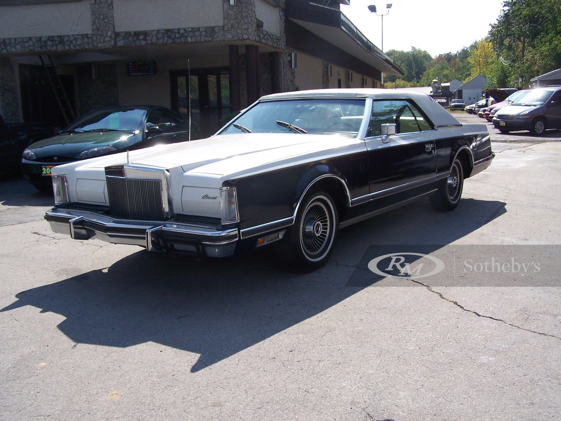 1979 Lincoln Mark V Continental 2D  -
