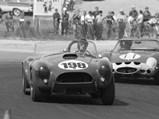 1963 Shelby 289 Cobra Works  - $Ken Miles pilots CSX 2129, #198, in the Laguna Seca Championship Road Races, Monterey, California, June 1963.