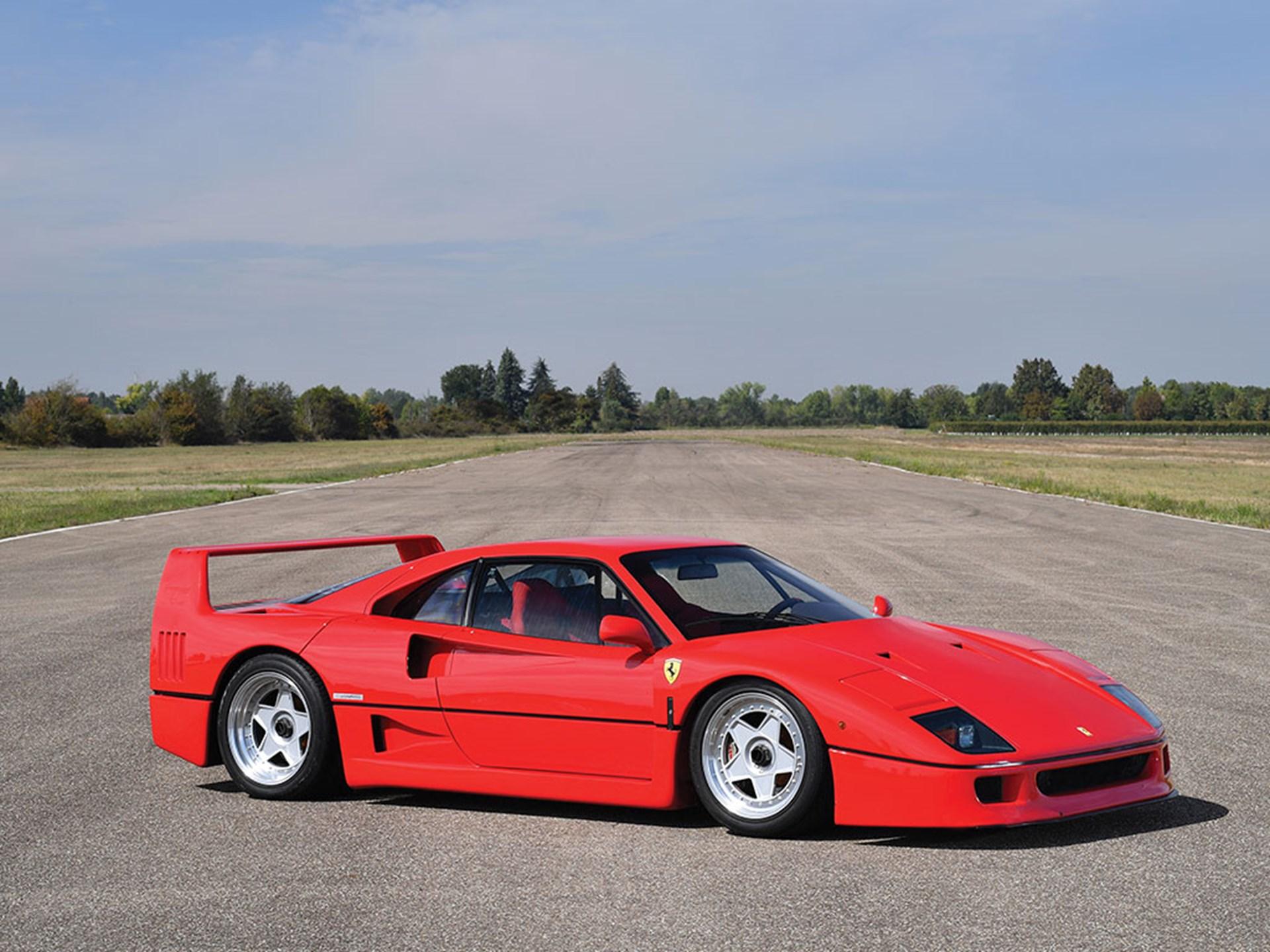 RM Sotheby's - 1992 Ferrari F40 | Duemila Ruote 2016