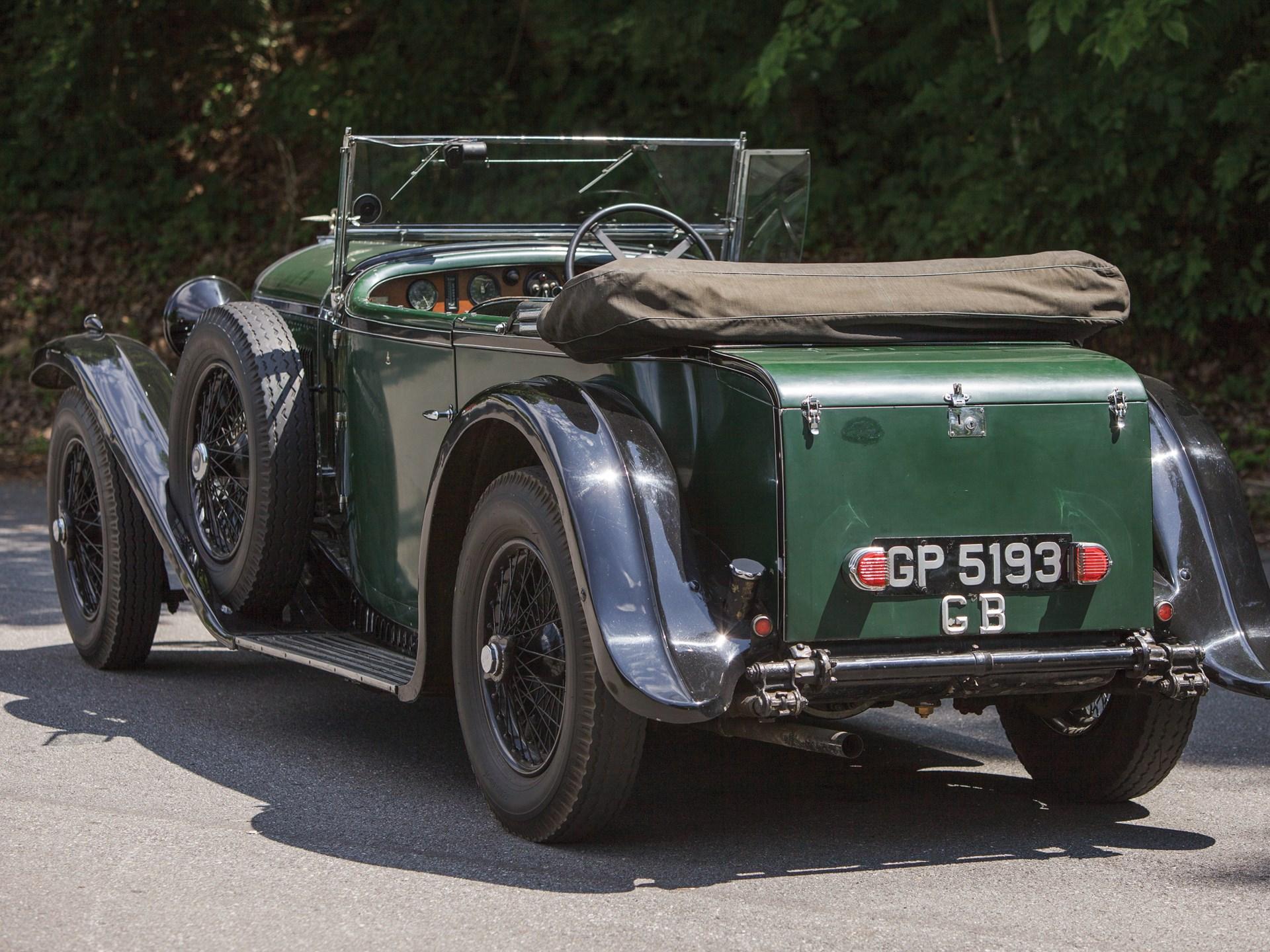 RM Sotheby's - 1931 Bentley 4-Litre Tourer by Vanden Plas