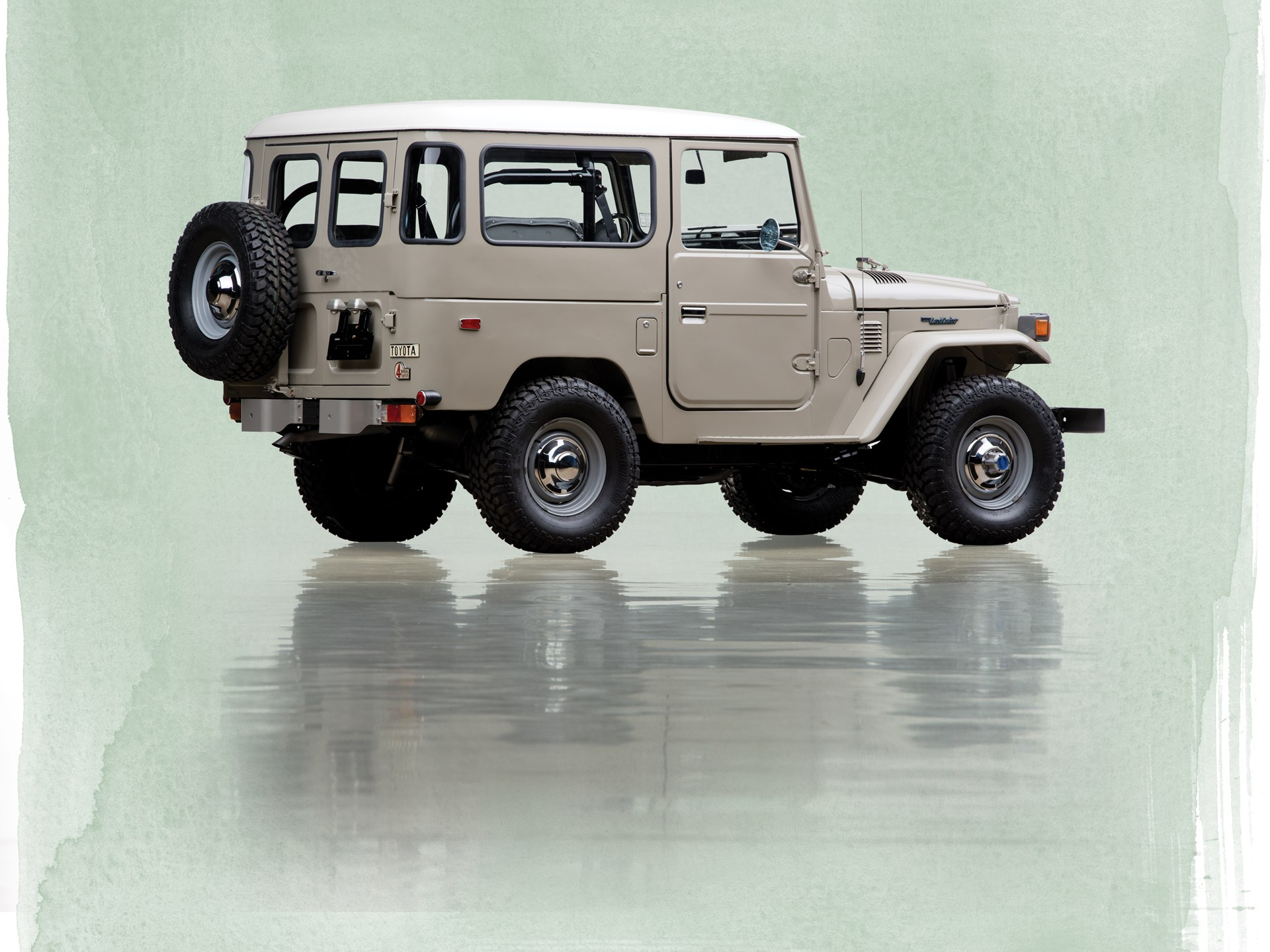 Rm Sothebys 1976 Toyota Fj40 Land Cruiser The Andrews Collection 1973 Front Differ