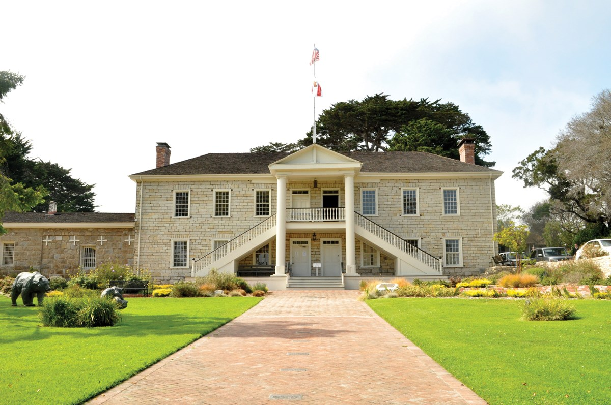 Colton Hall, where California's first Constitution was drafted in October 1849.