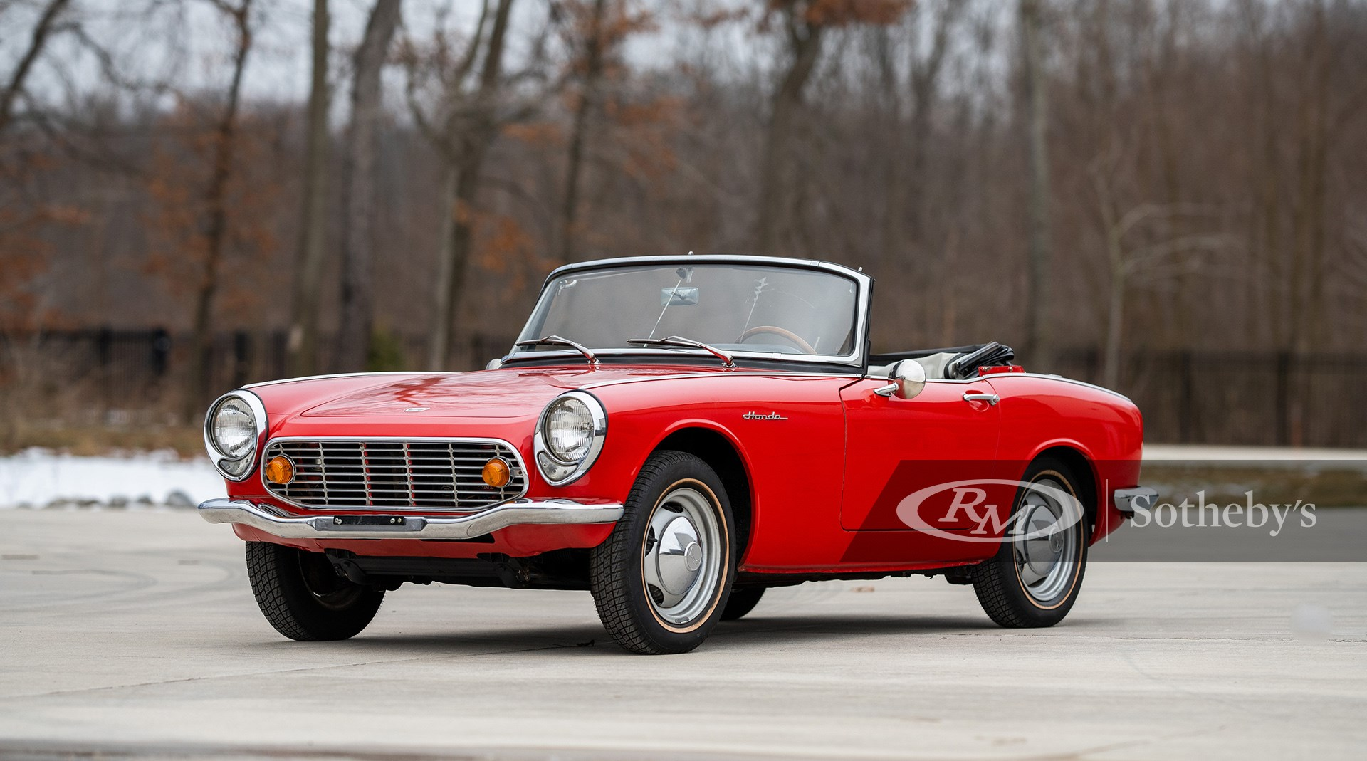 RM Sotheby's The Elkhart Collection 2020, Blog, 1966 Honda S600 Convertible