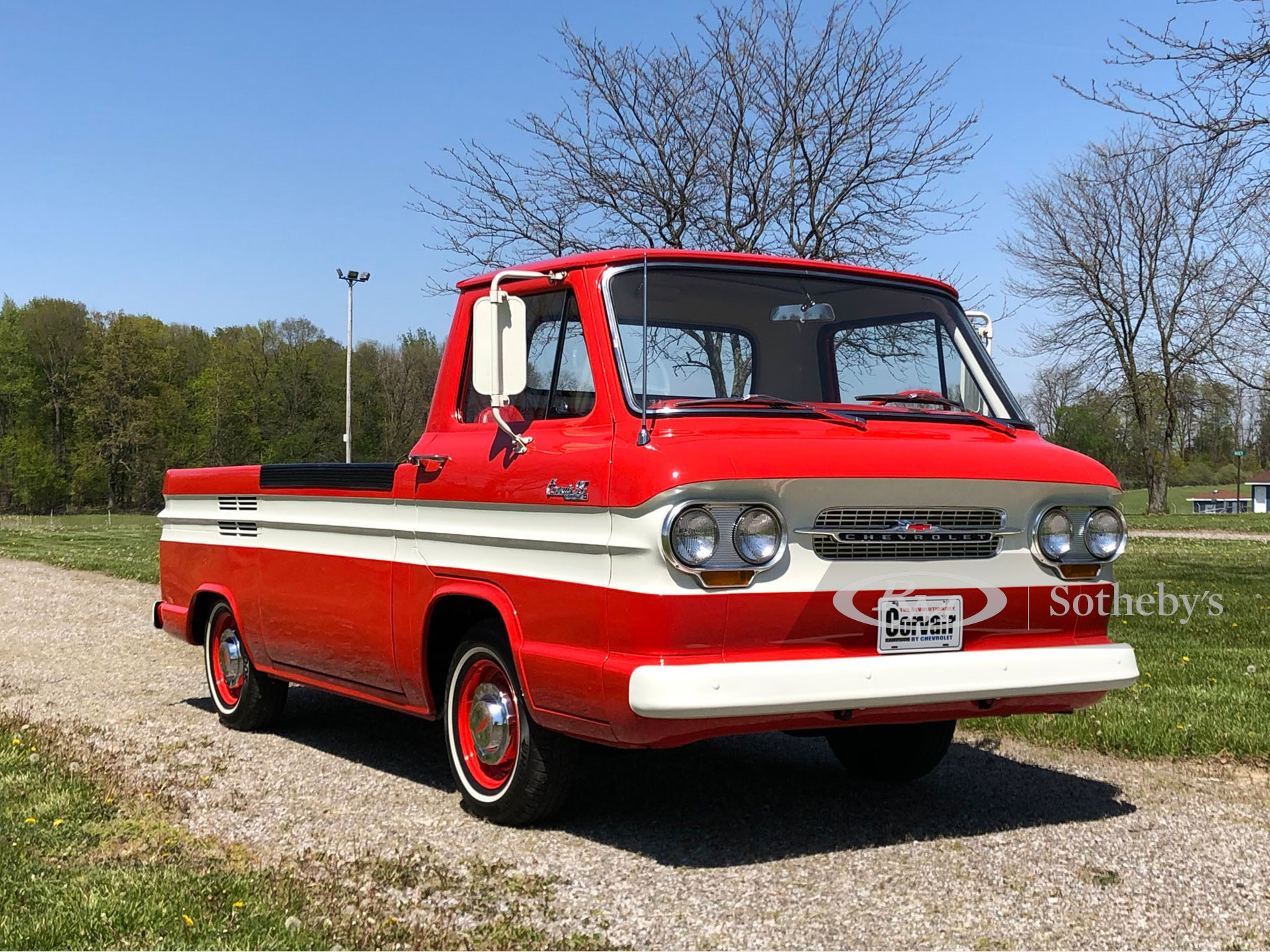1963 Chevrolet Corvair 95 Rampside Pickup  -