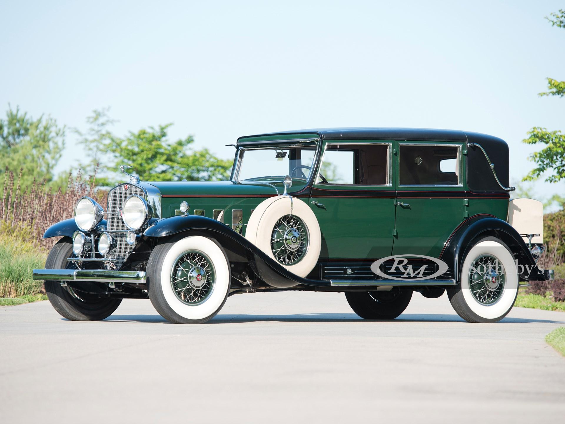 1930 Cadillac V-16 Madame X Sedan Cabriolet by Fleetwood -