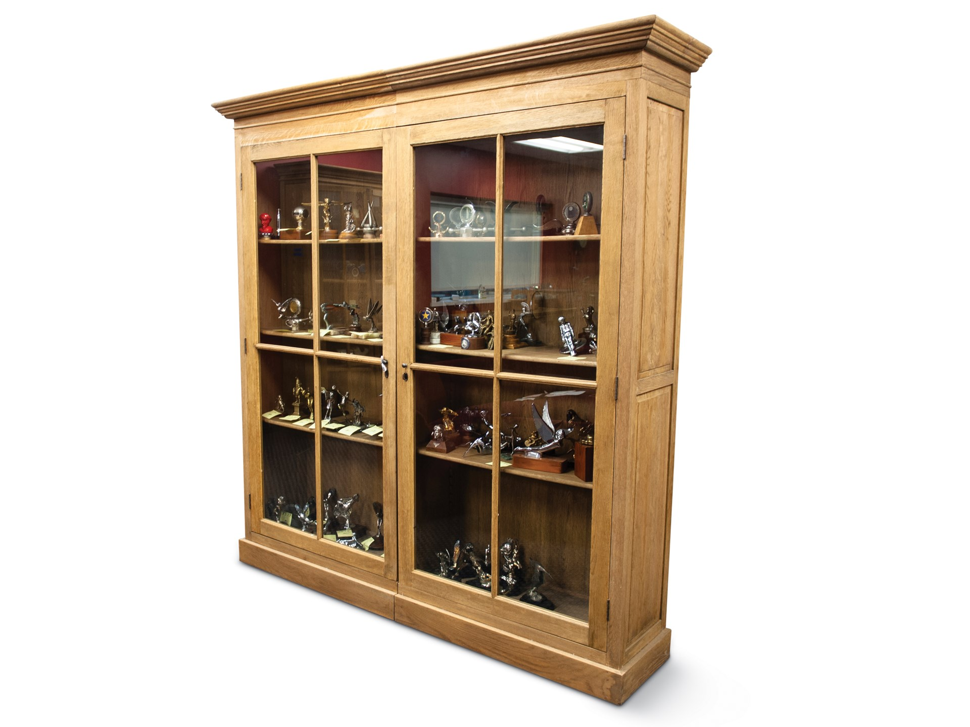 Rm Sotheby S Wooden Bookcase With Glass Doors The Guyton