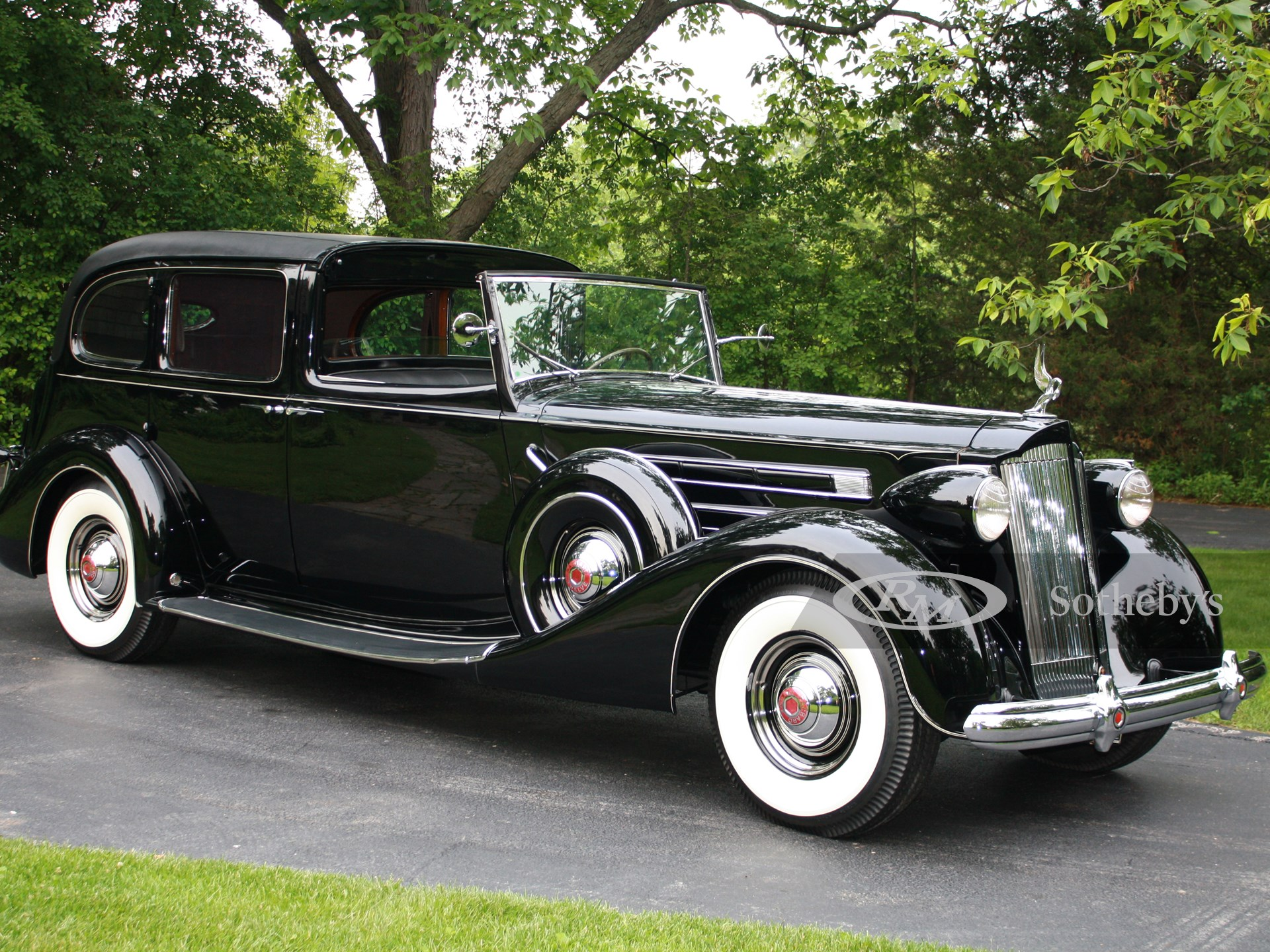 1937 Packard Twelve All-Weather Town Car by LeBaron