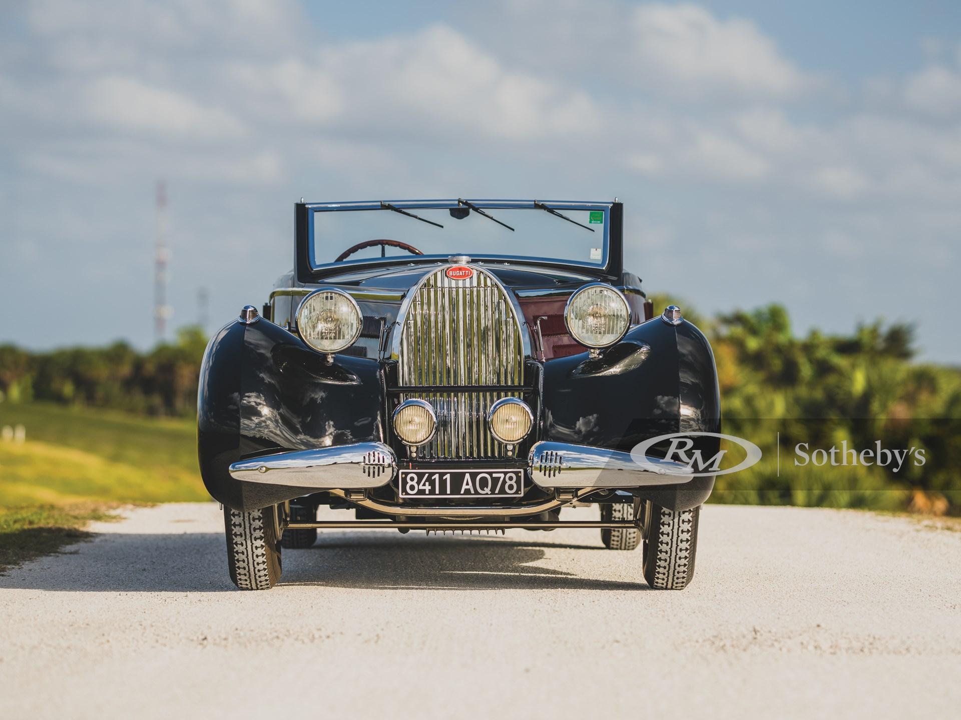 1938 Bugatti Type 57 Cabriolet by D'Ieteren -