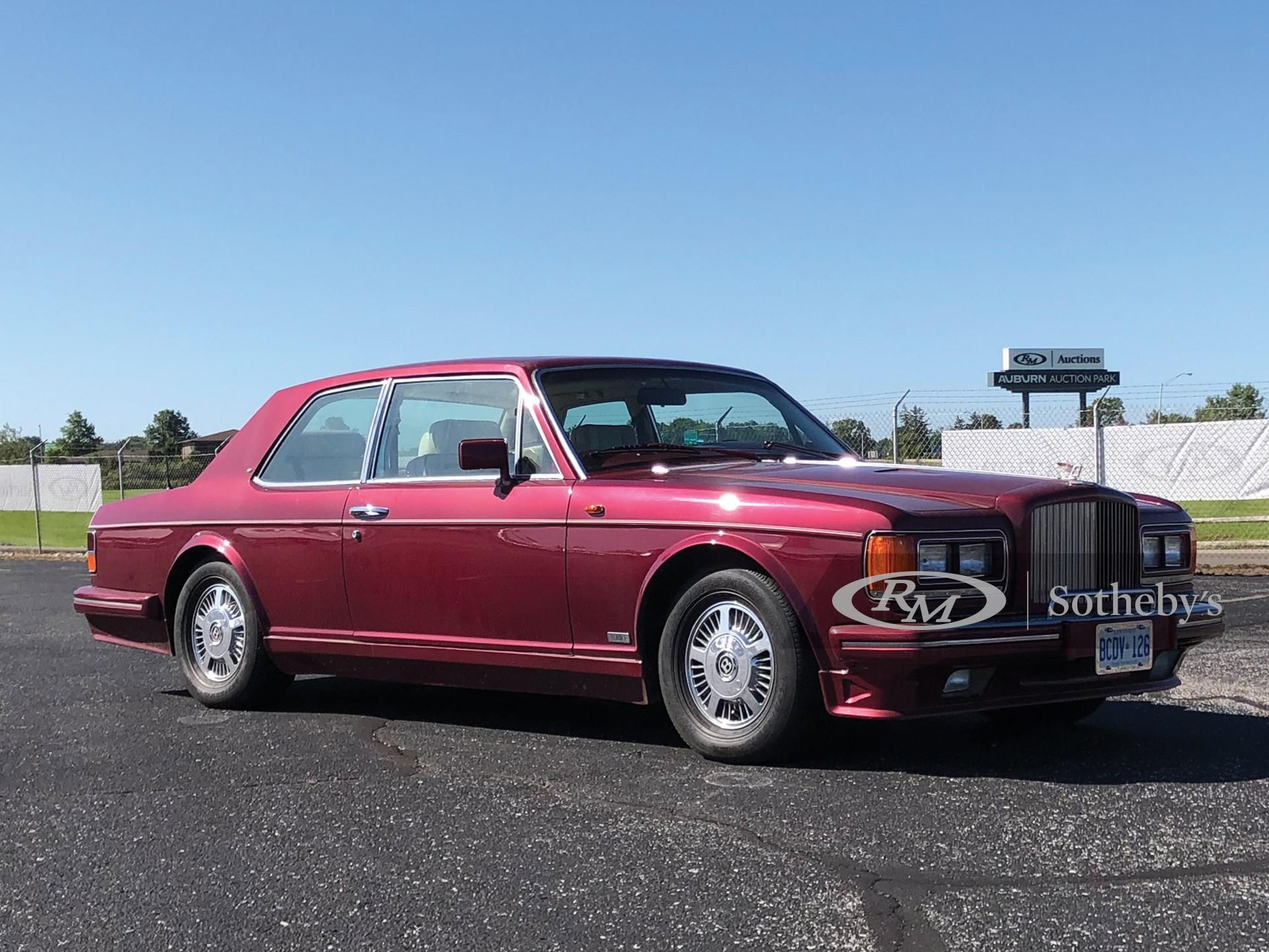 1985 Bentley Mulsanne Turbo Two-Door by Hooper & Co.