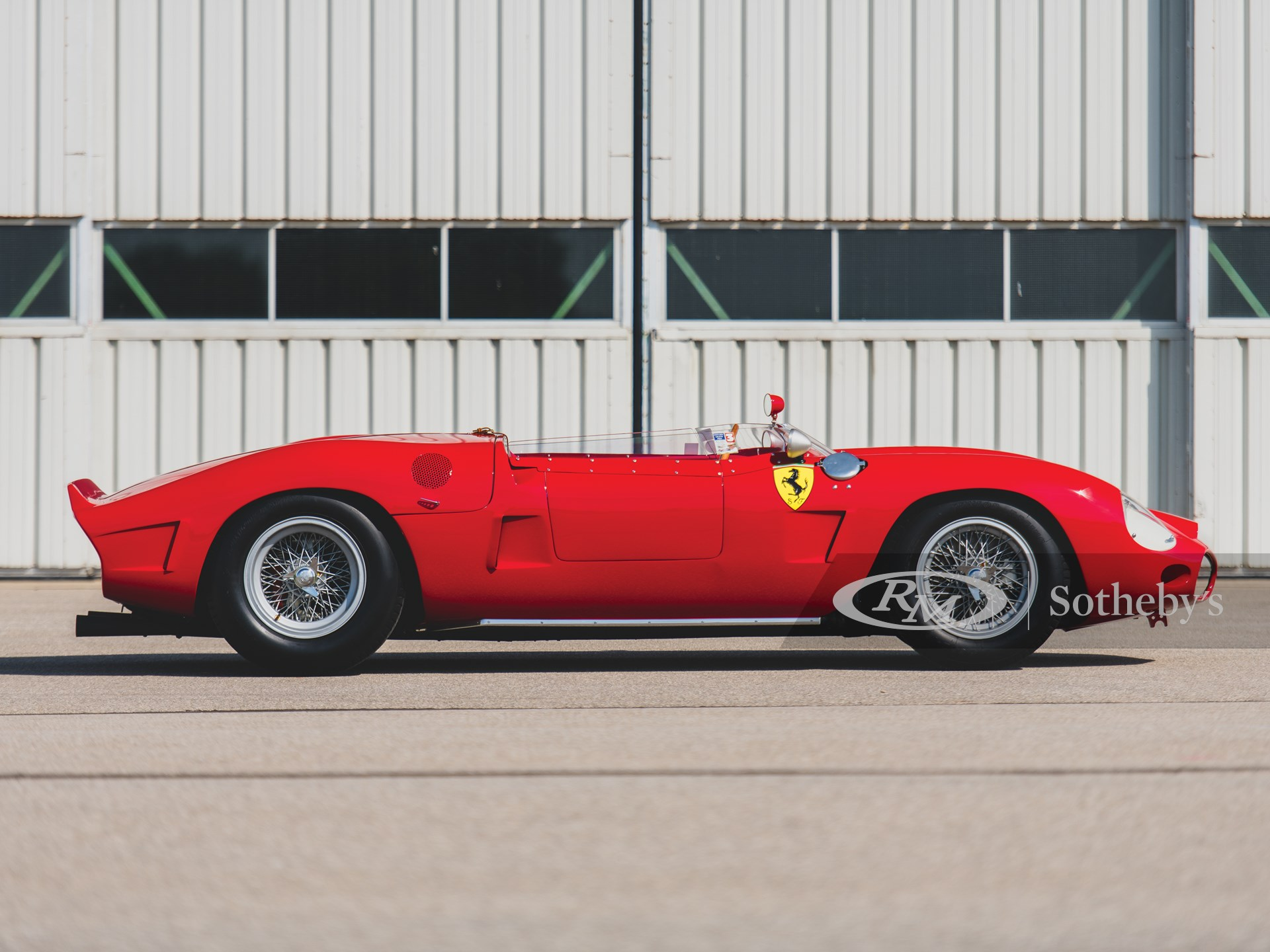 1962 Ferrari 196 SP by Fantuzzi -