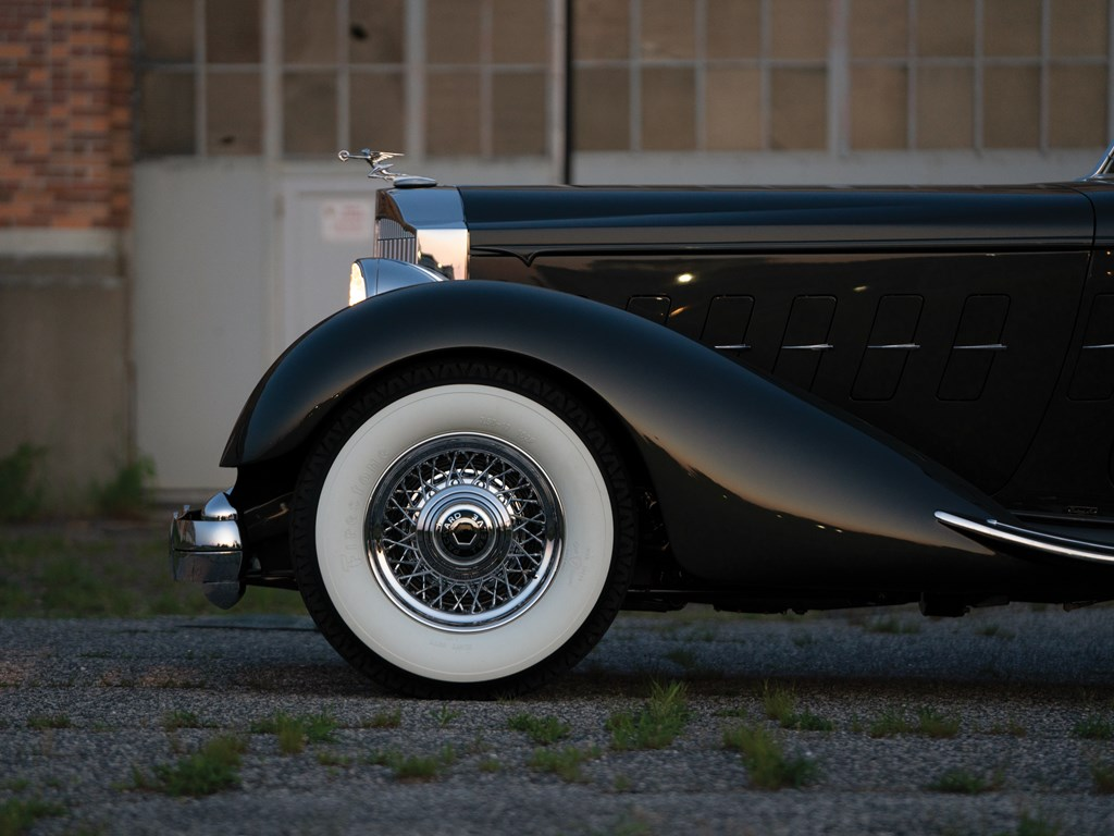 1934 Packard Twelve Individual Custom Convertible Victoria by Dietrich