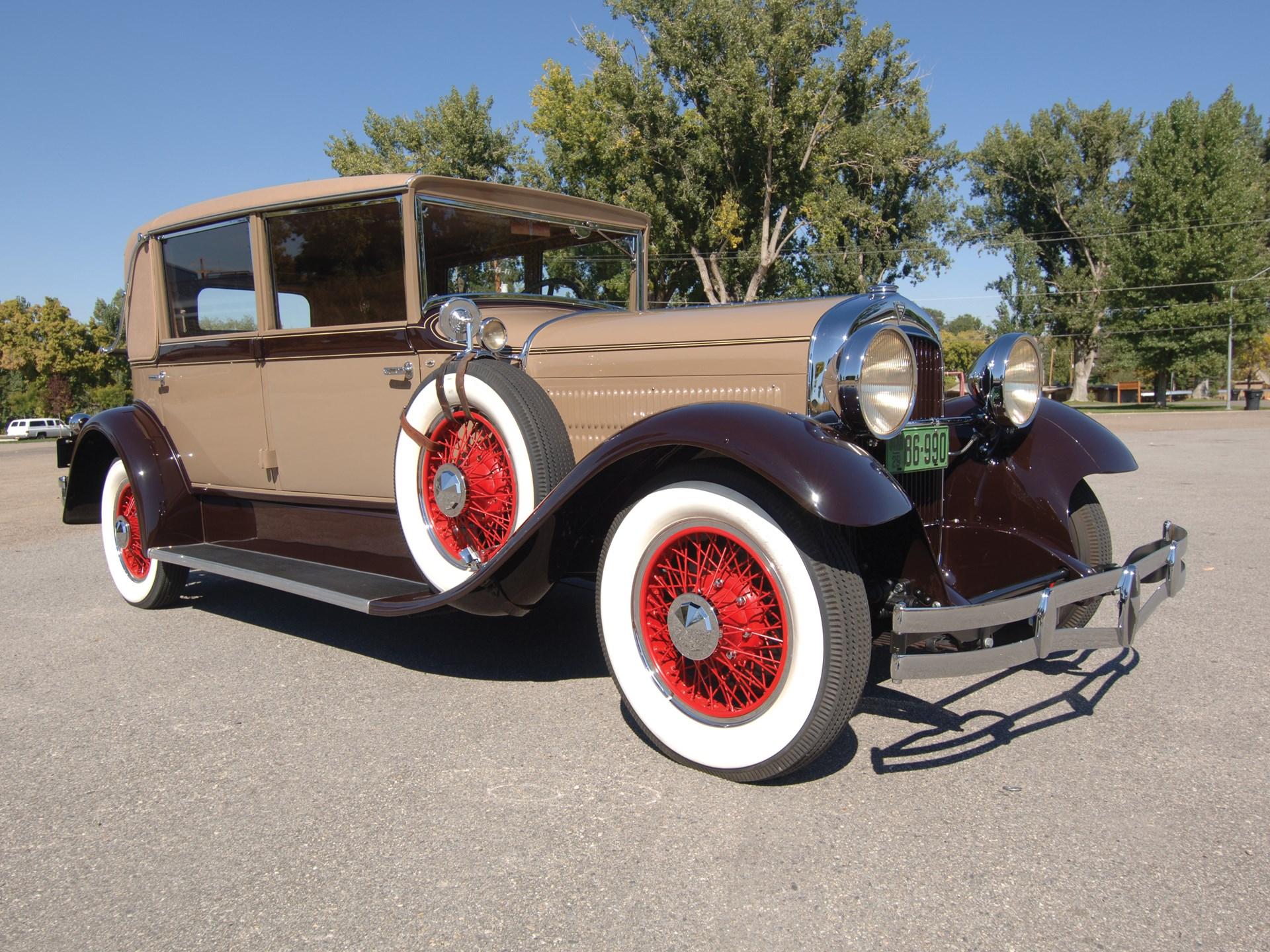 1929 Hudson Model L Club Sedan by Biddle & Smart