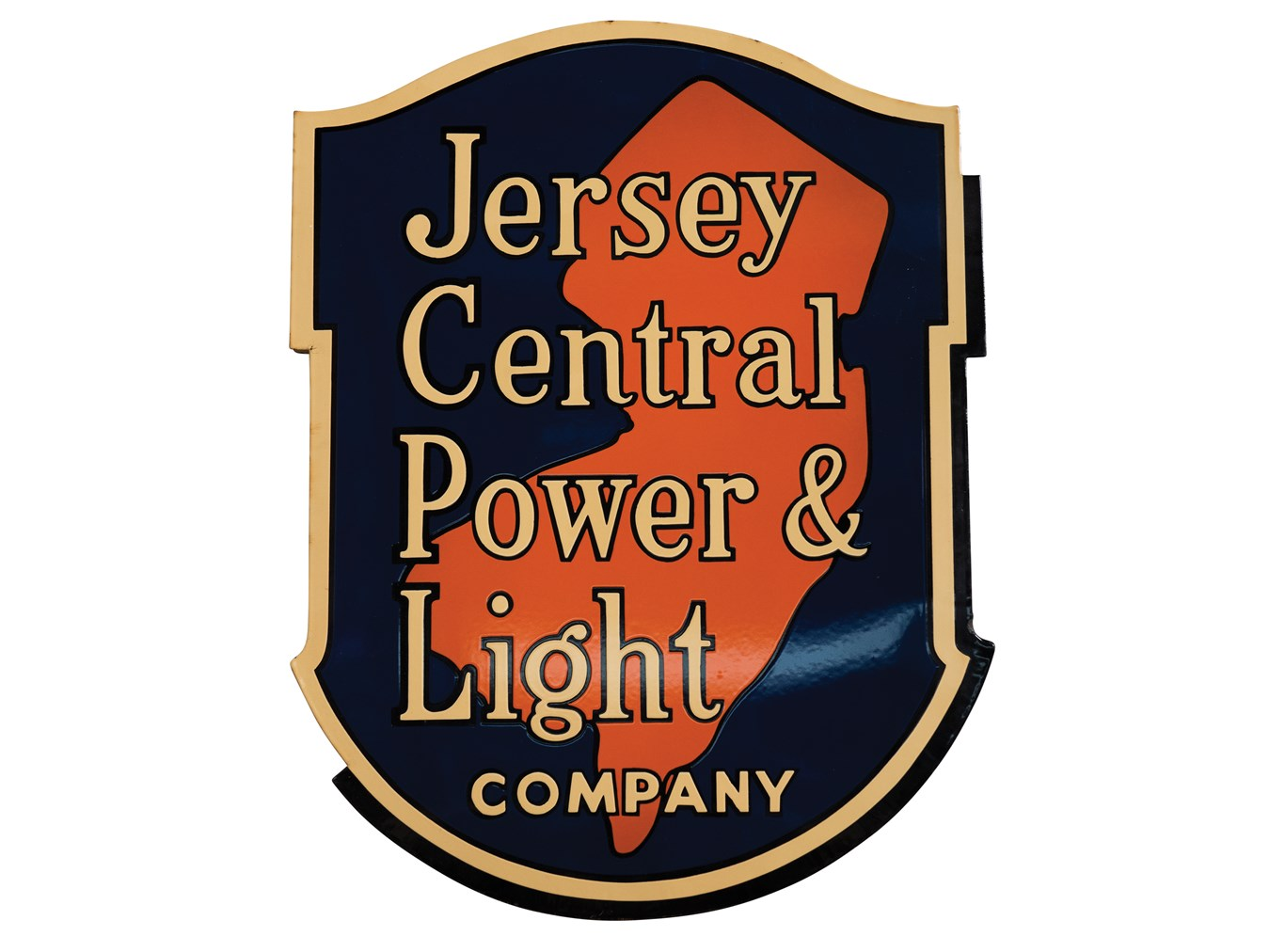 Perfect Jersey Central Power U0026 Light Company Porcelain Sign