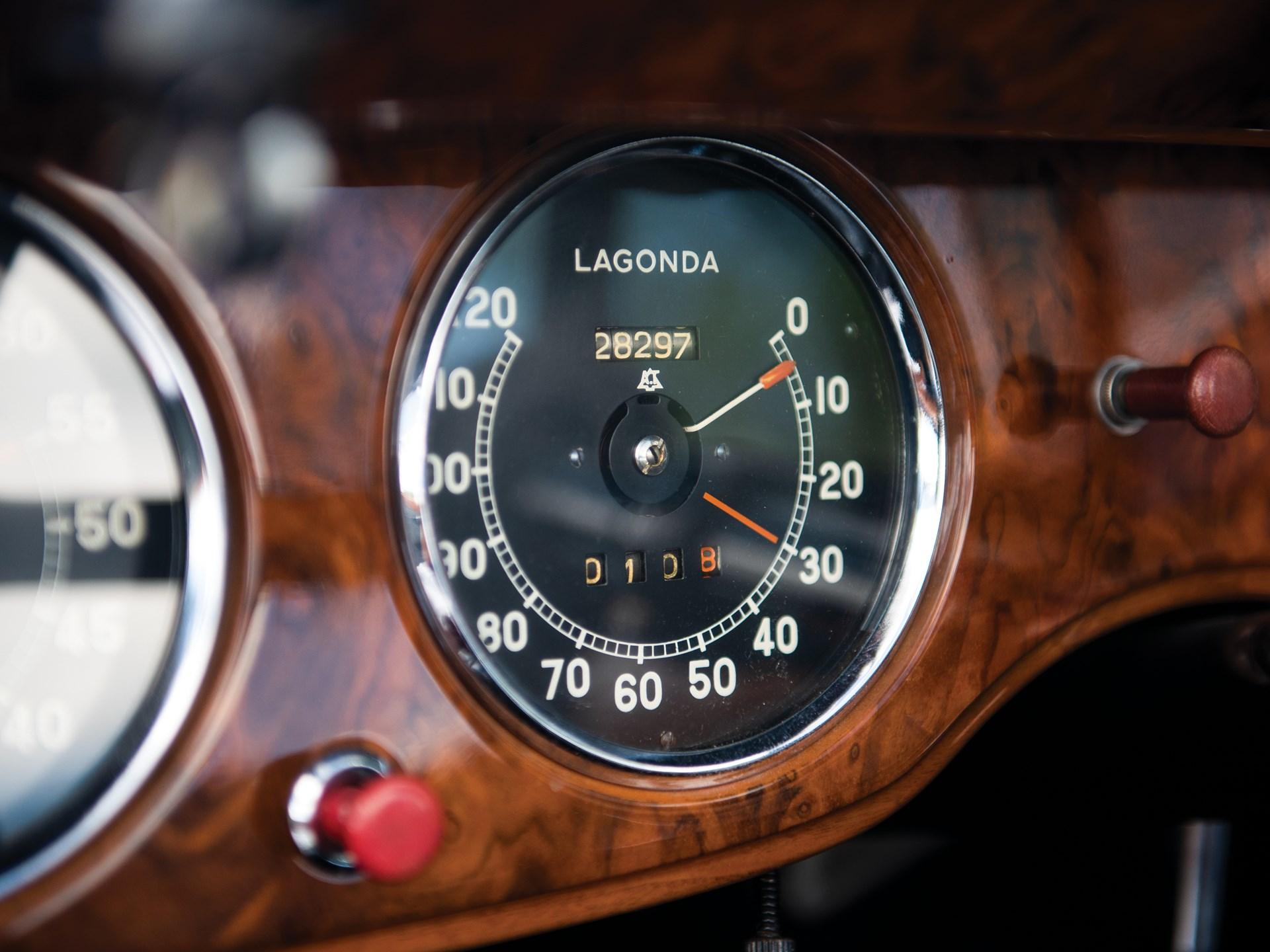 1939 Lagonda V-12 Drophead Coupe