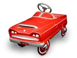 Pedal Car with Peugeot Badge - $