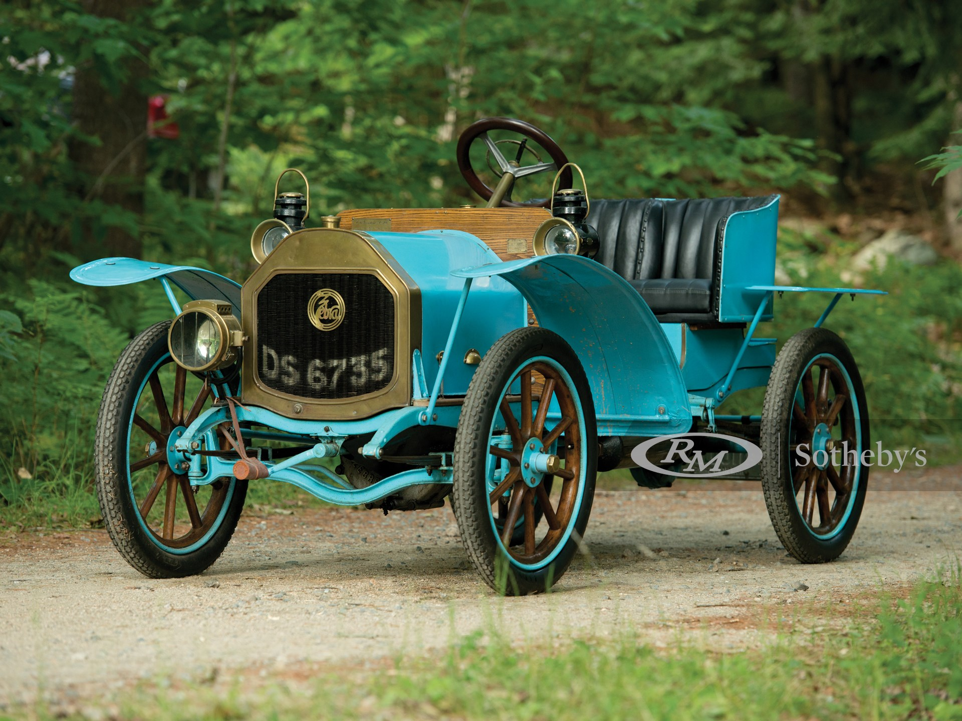 1910 Zebra Type A Runabout