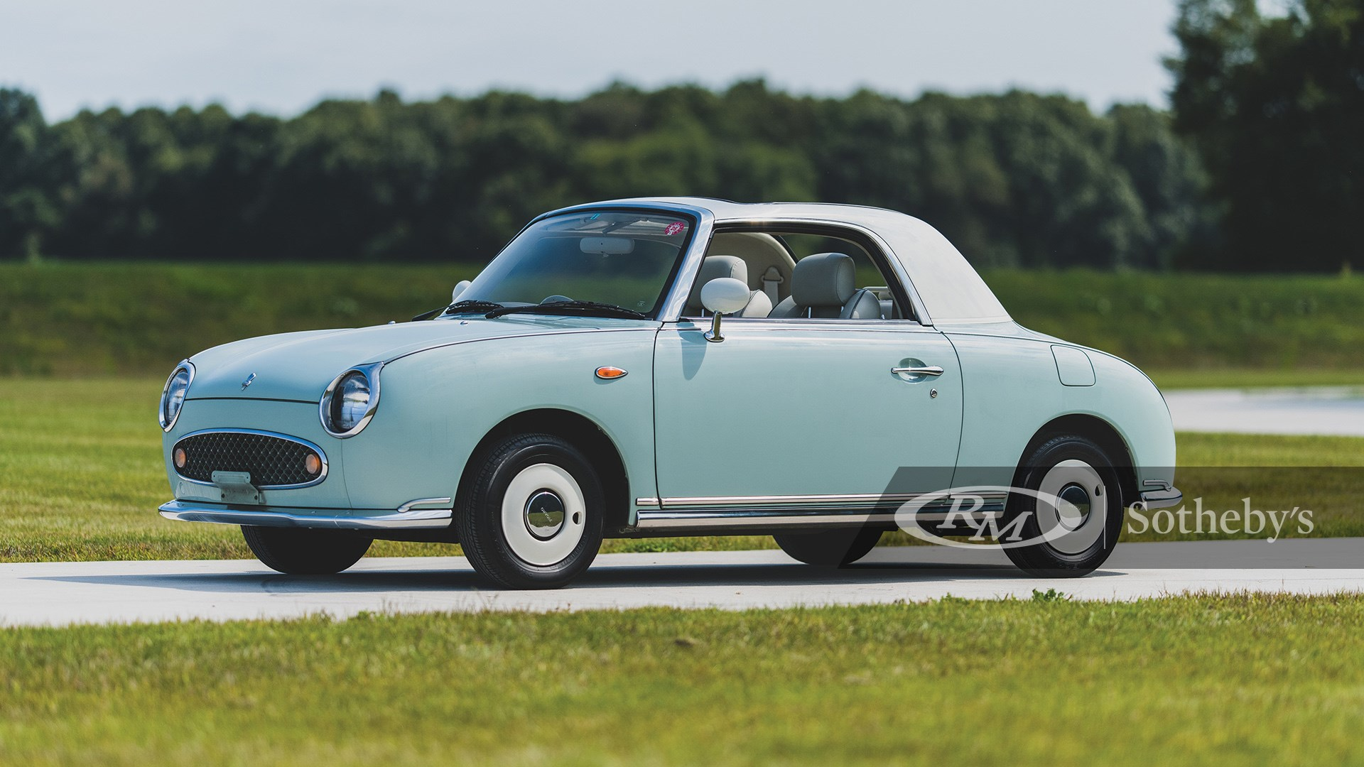 RM Sotheby's The Elkhart Collection 2020, Blog, 1991 Nissan Figaro