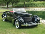 1936 Cord 810 Convertible Coupe  - $