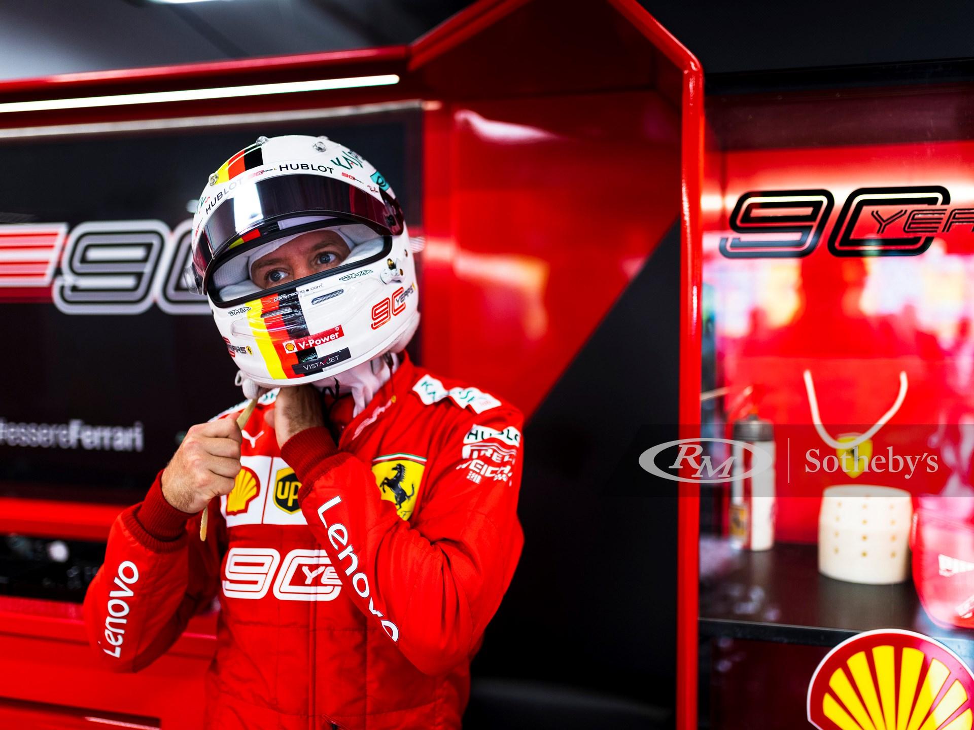 Sebastian Vettel Ferrari Racing Suit, 2019 -