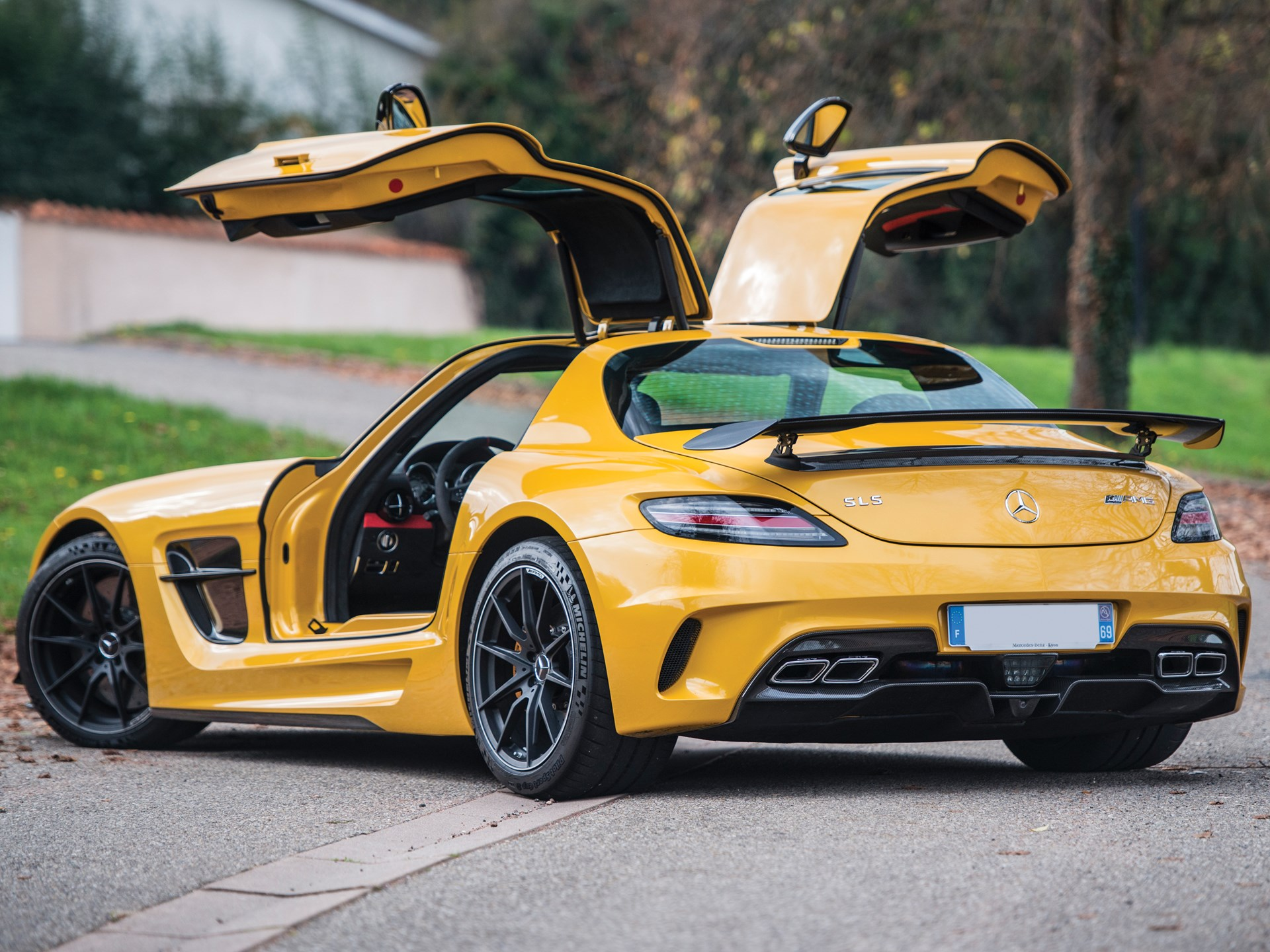 Sls Black Series >> Rm Sotheby S 2014 Mercedes Benz Sls Amg Black Series Paris 2017