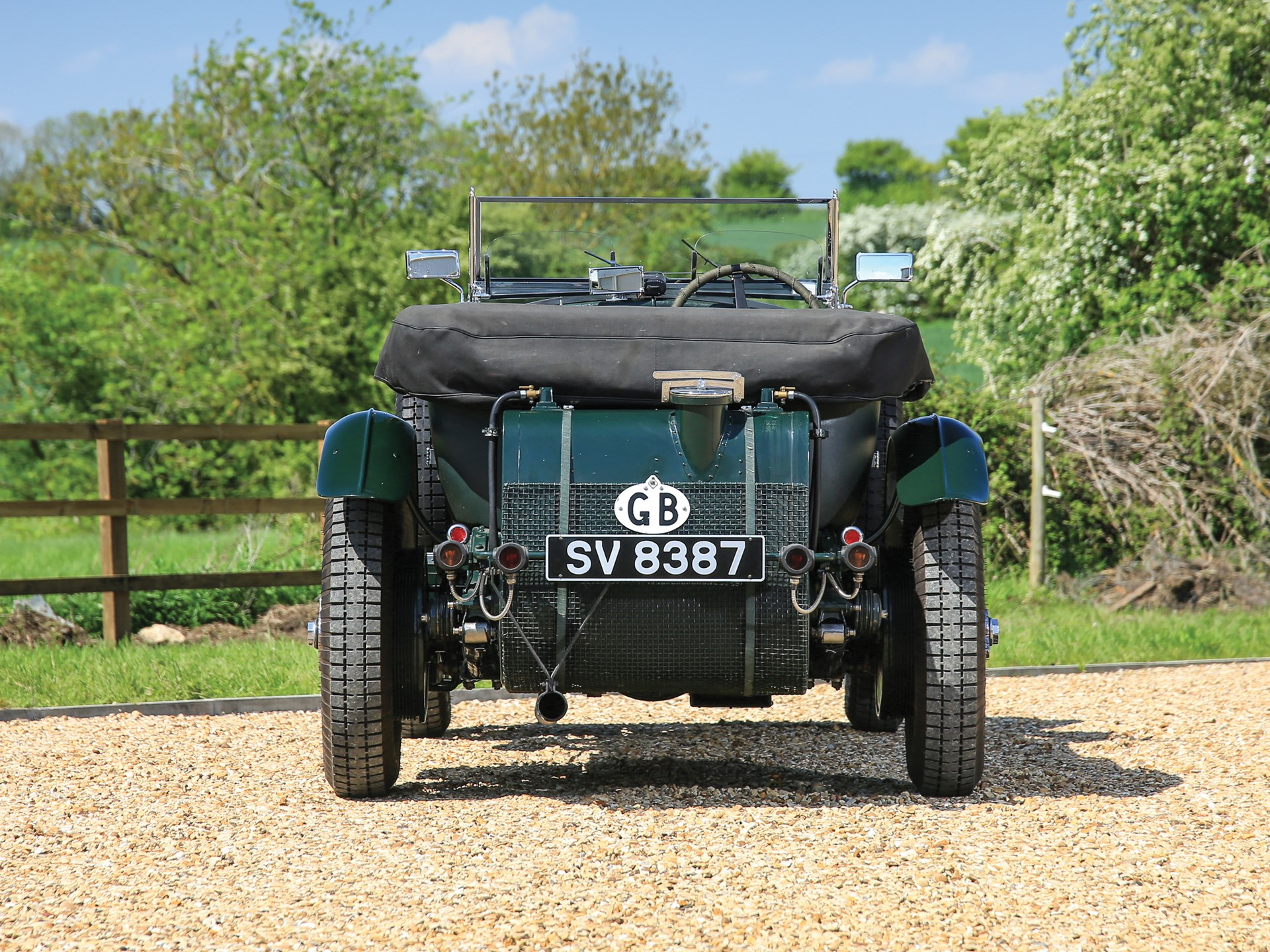1929 Bentley 4½-Litre Supercharged Tourer Recreation by Graham Moss