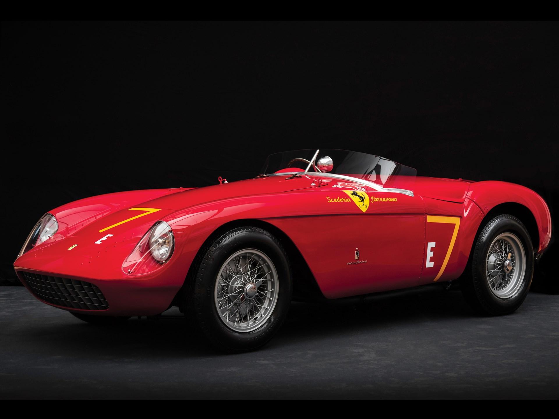 Rm Sothebys 1954 Ferrari 500 Mondial Spider By Pinin