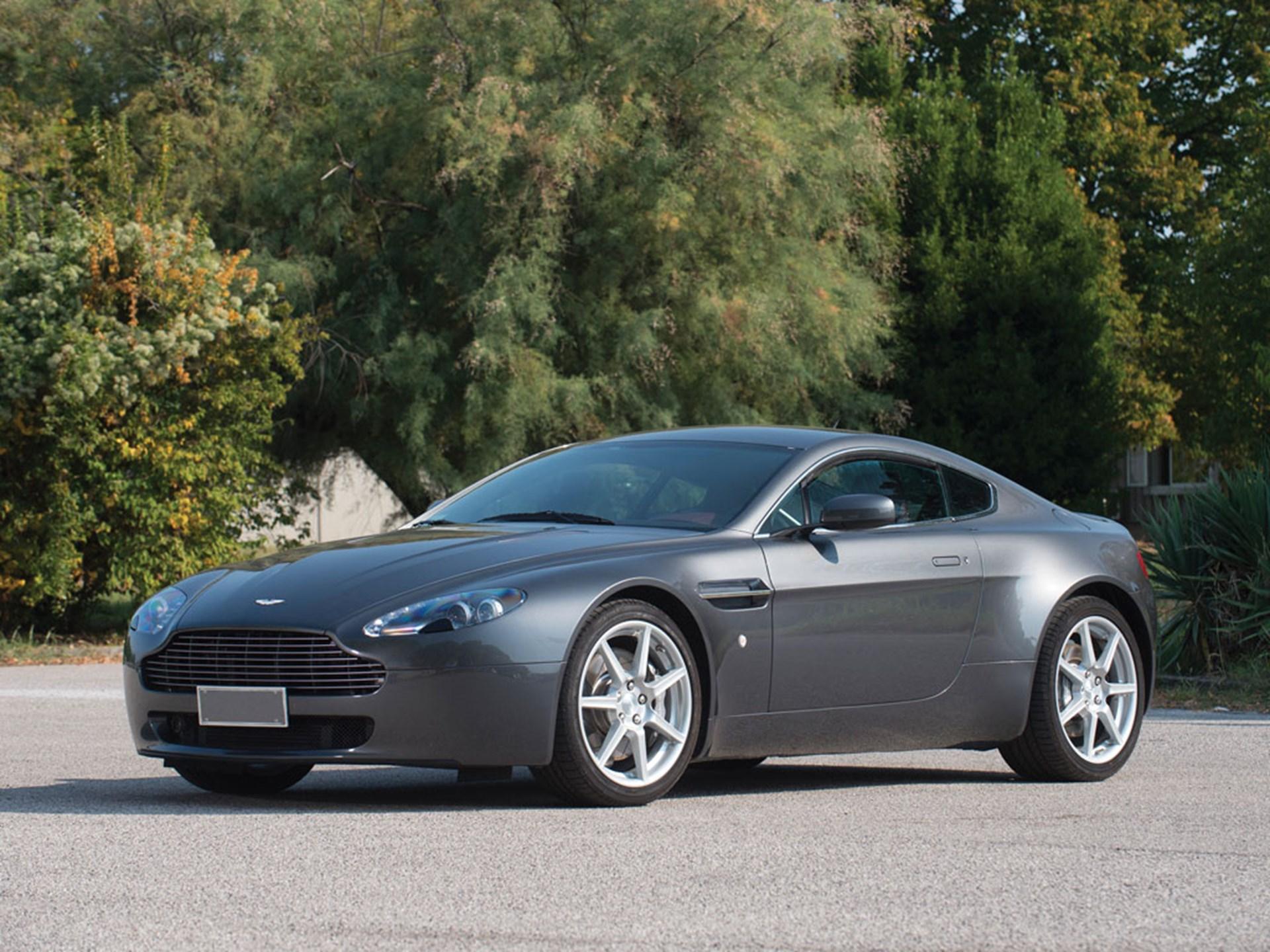RM Sothebys Aston Martin V Vantage Duemila Ruote - 2007 aston martin v8 vantage