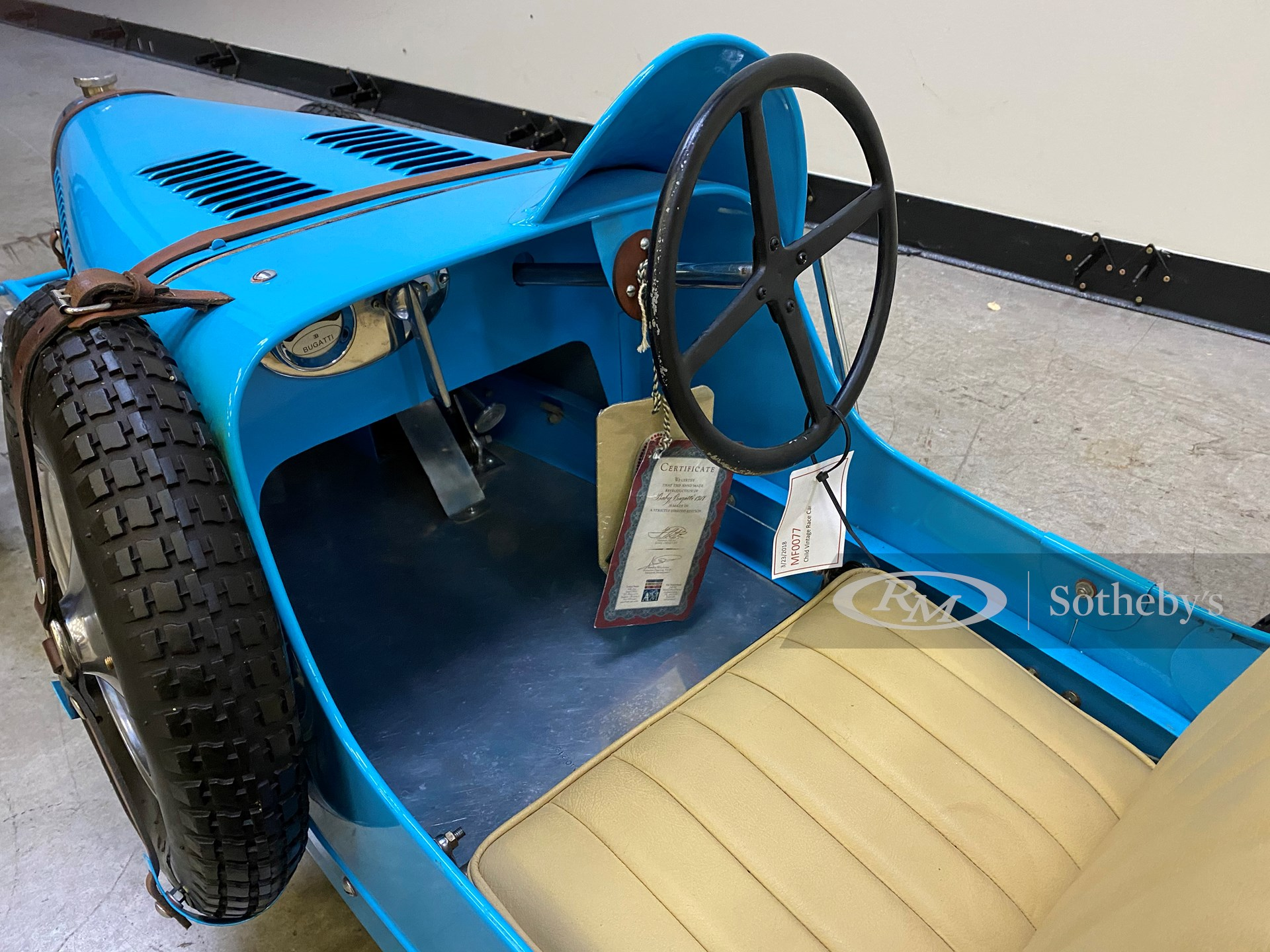 1927 Baby Bugatti Replica by American Models -