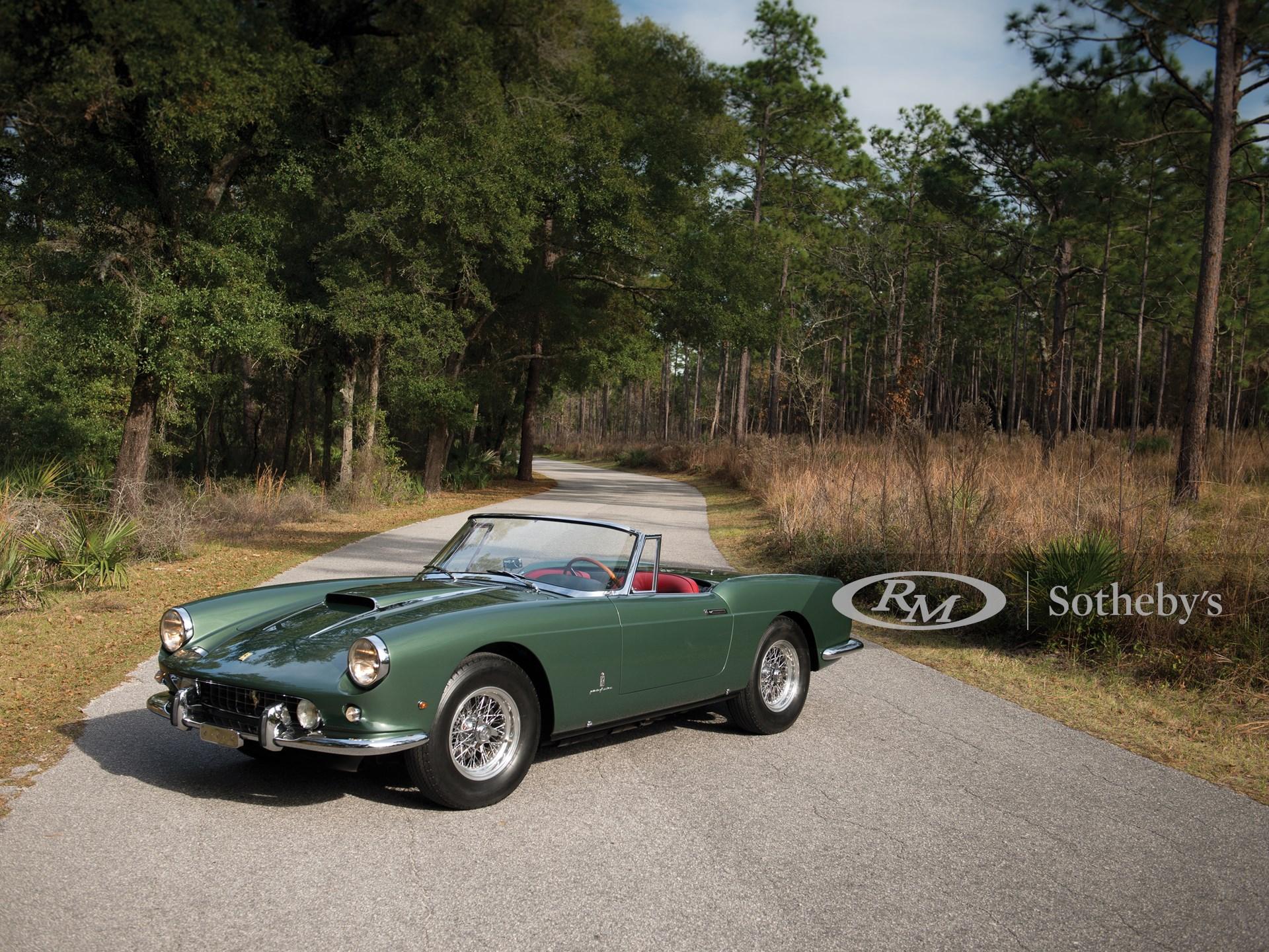 1960 Ferrari 400 Superamerica Swb Cabriolet By Pinin Farina Amelia Island 2015 Rm Sotheby S