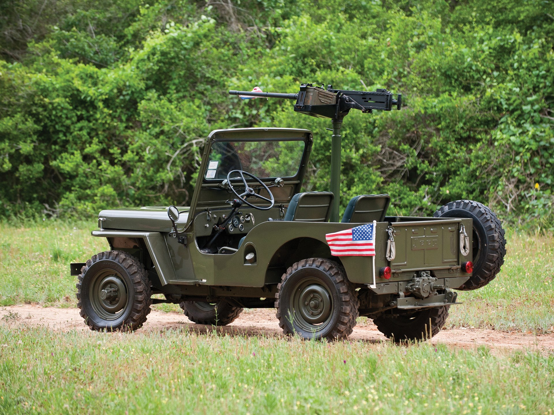 Rm Sothebys 1952 Willys Military Jeep The Charlie Thomas 1941 To
