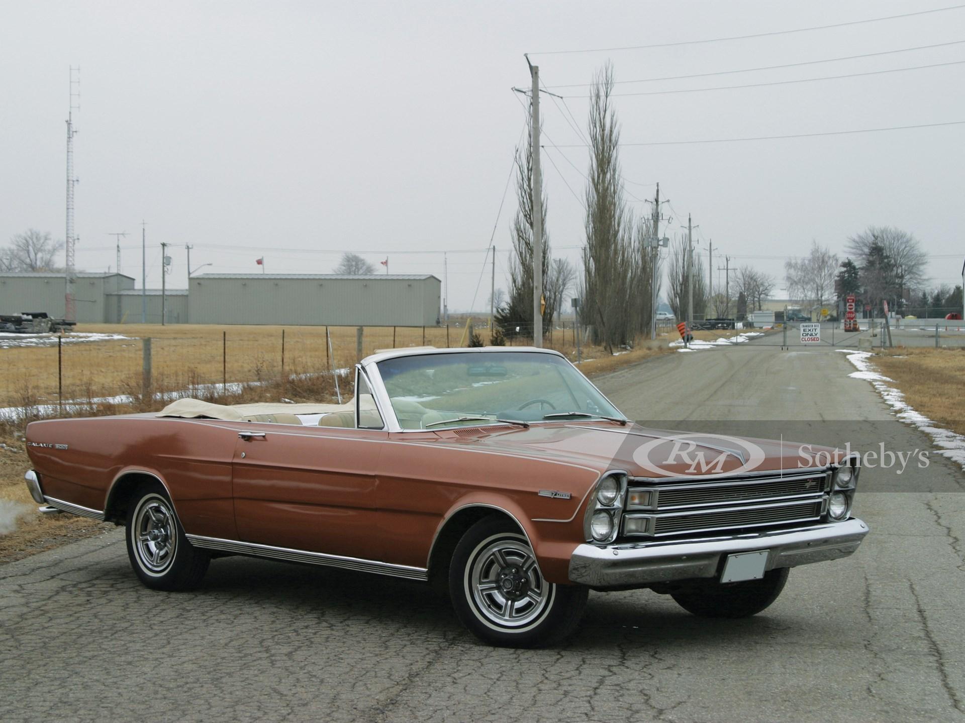 """1966 Ford Galaxie 500 Seven Litre Conv. """"RARE"""""""