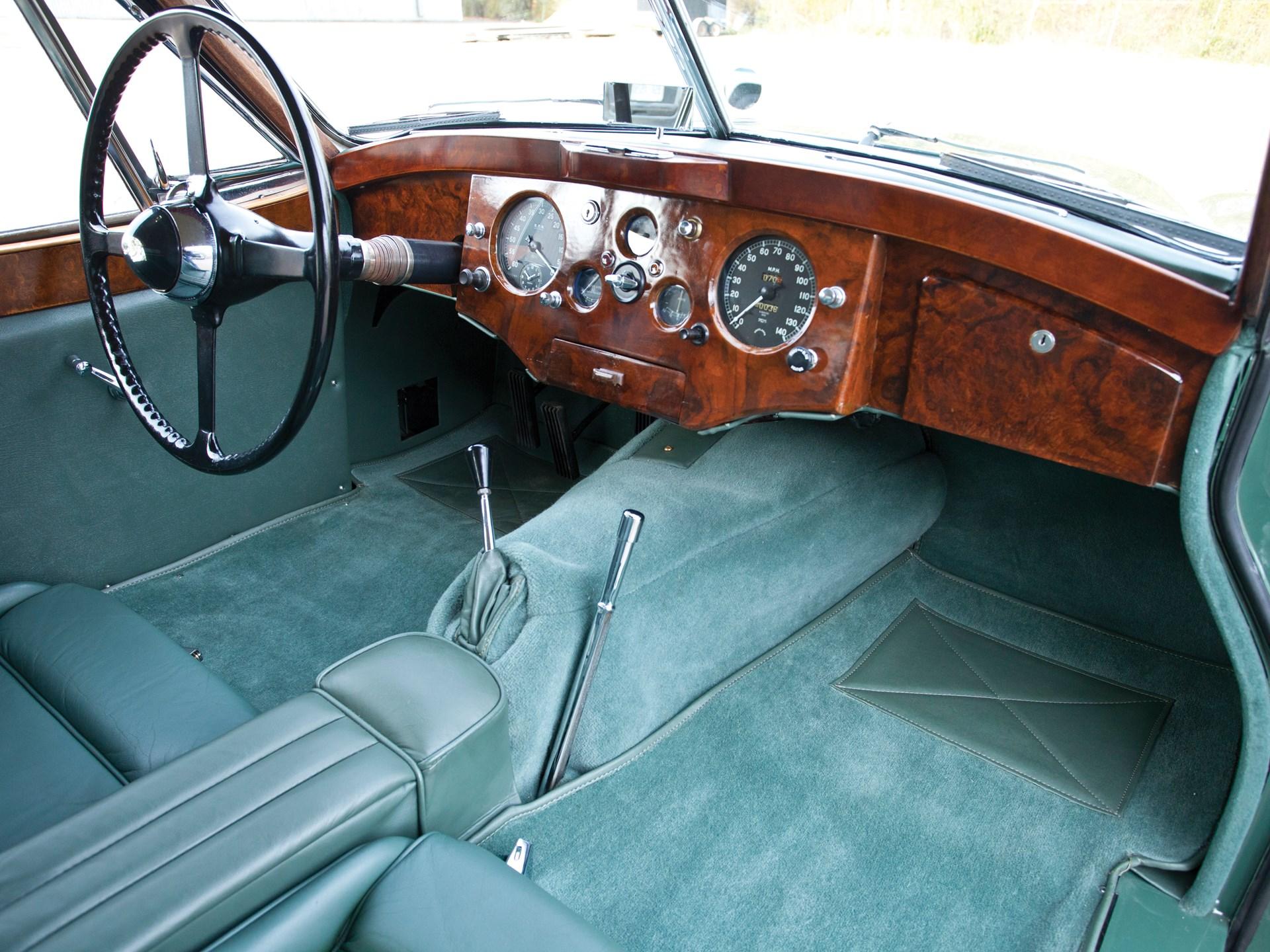 1952 Jaguar XK 120 SE Fixed Head Coupe