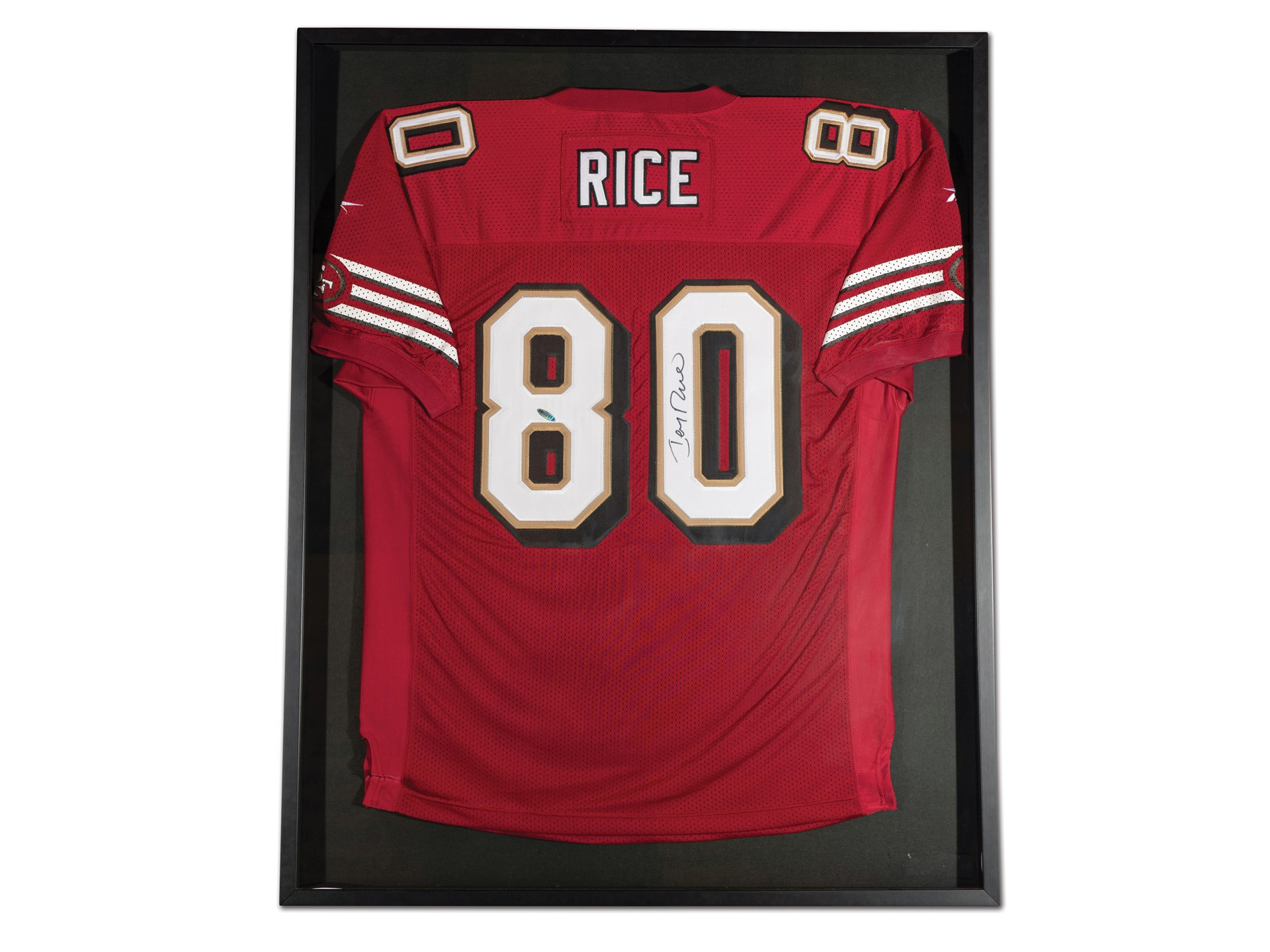 wholesale dealer 6d2bf ed2f4 RM Sotheby's - Jerry Rice San Francisco 49ers Autographed ...