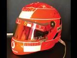 Michael Schumacher Ferrari Formula 1 Helmet, 2005 - $