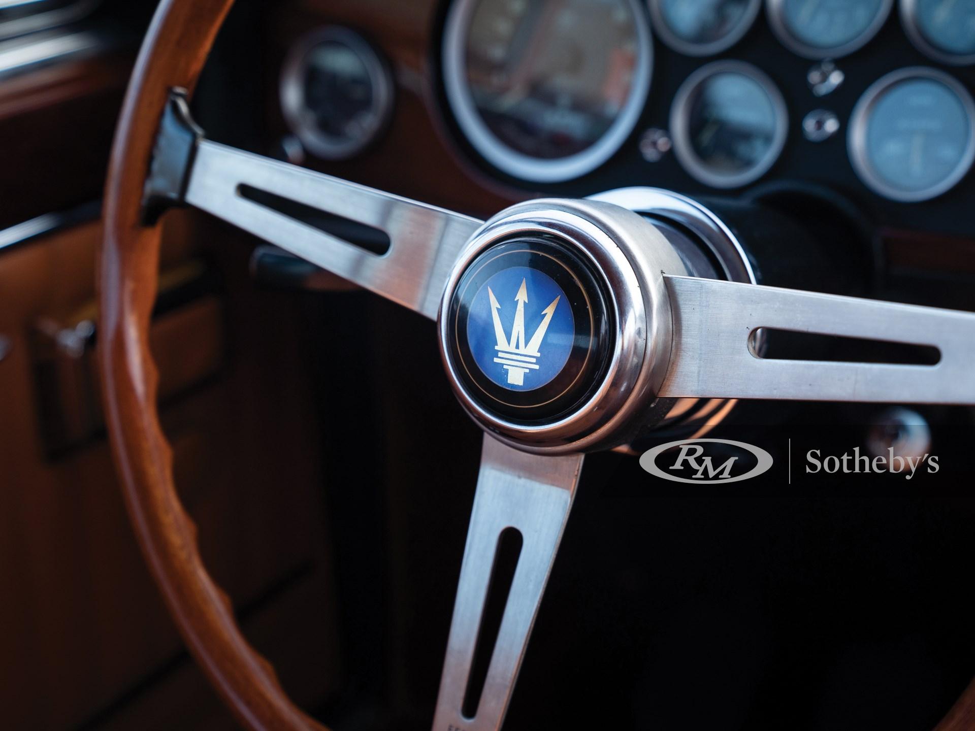 1966 Maserati Mexico 4.7 Coupe by Vignale -