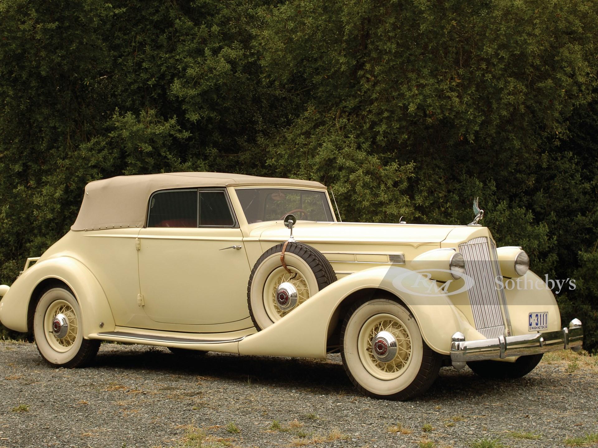 1936 Packard Twelve Convertible Victoria