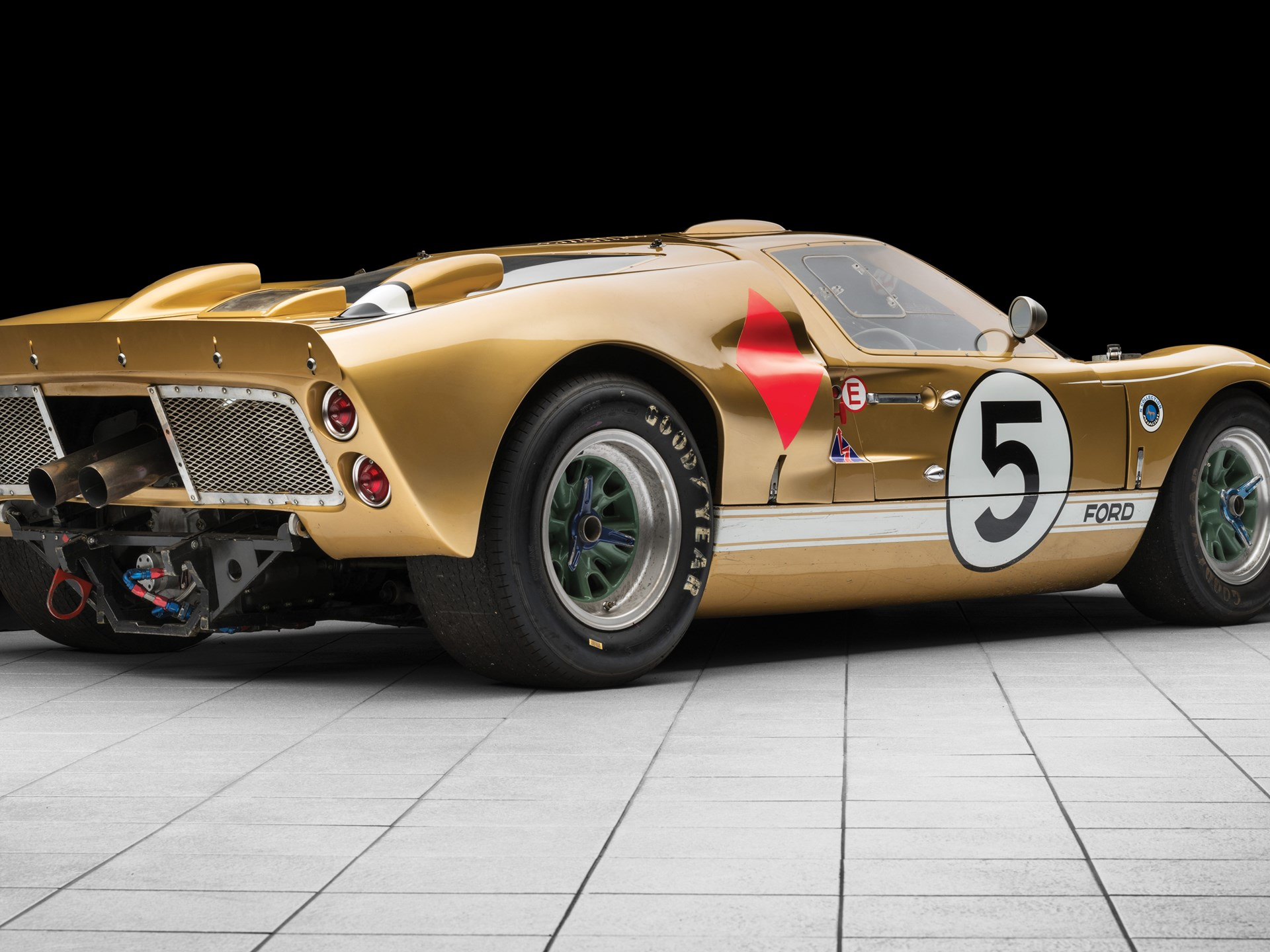 RM Sotheby's - 1966 Ford GT40 Mk II | Monterey 2018