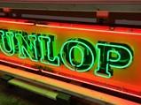 Dunlop Neon Porcelain Sign - $