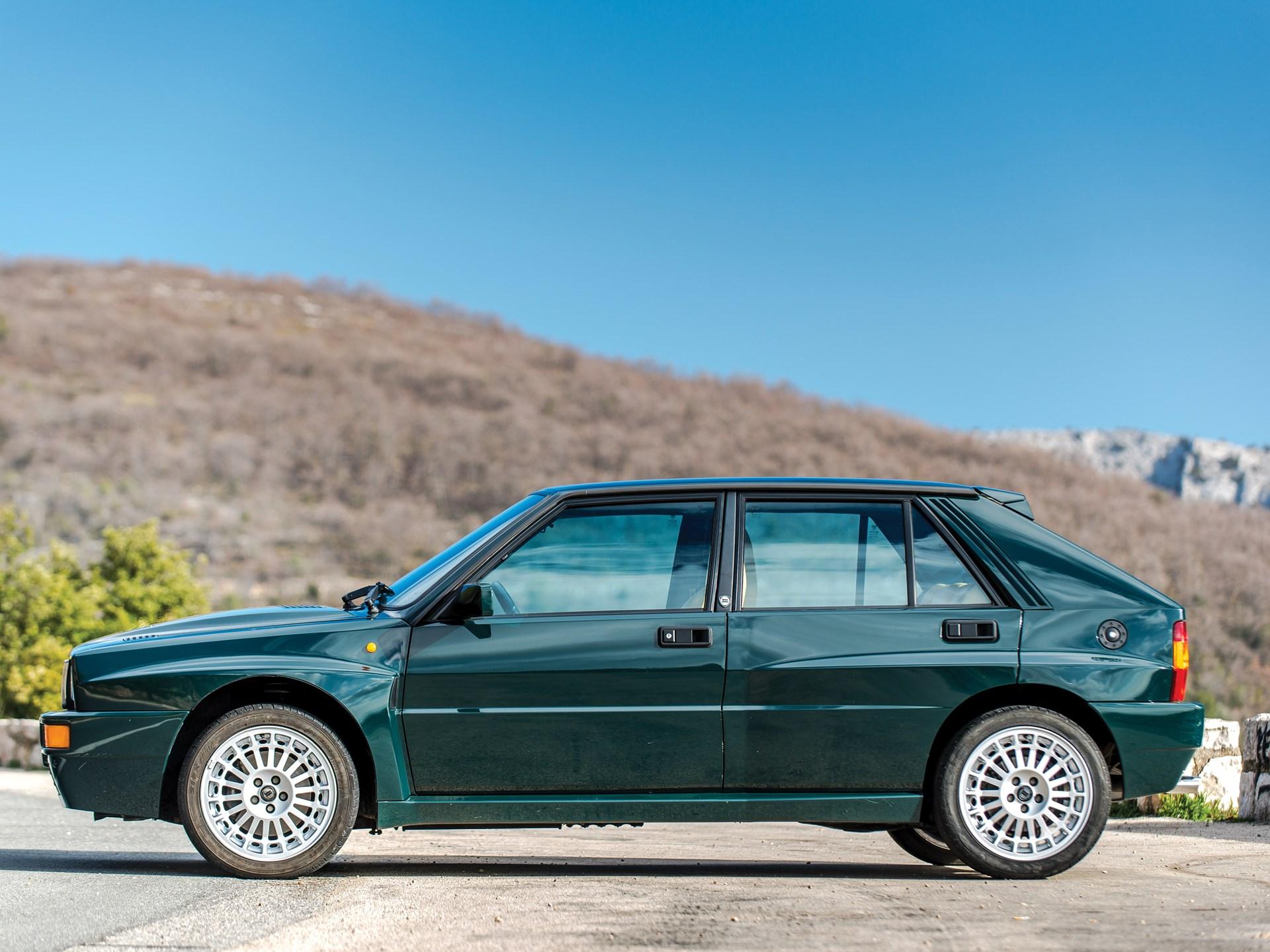 1992 Lancia Delta HF Integrale Evoluzione 'Verde York'
