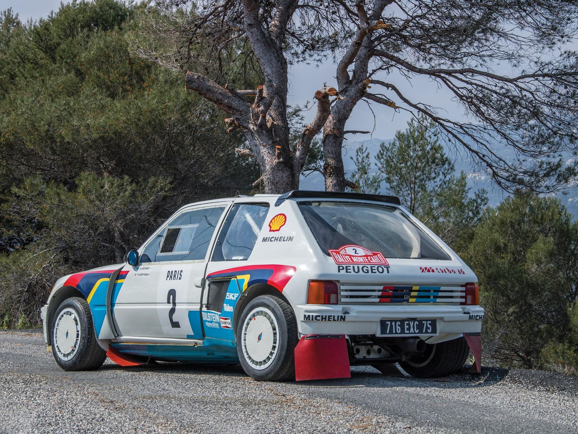 1984 Peugeot 205 Turbo 16 Evolution 1 Group B