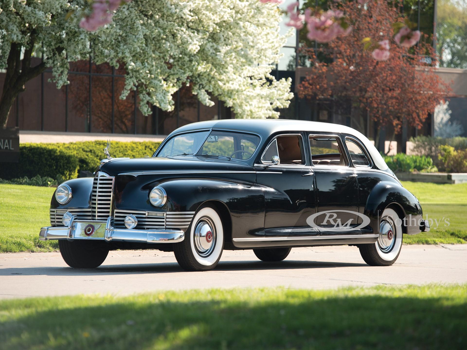 1947 Packard Custom Super Clipper Seven-Passenger Sedan by Henney