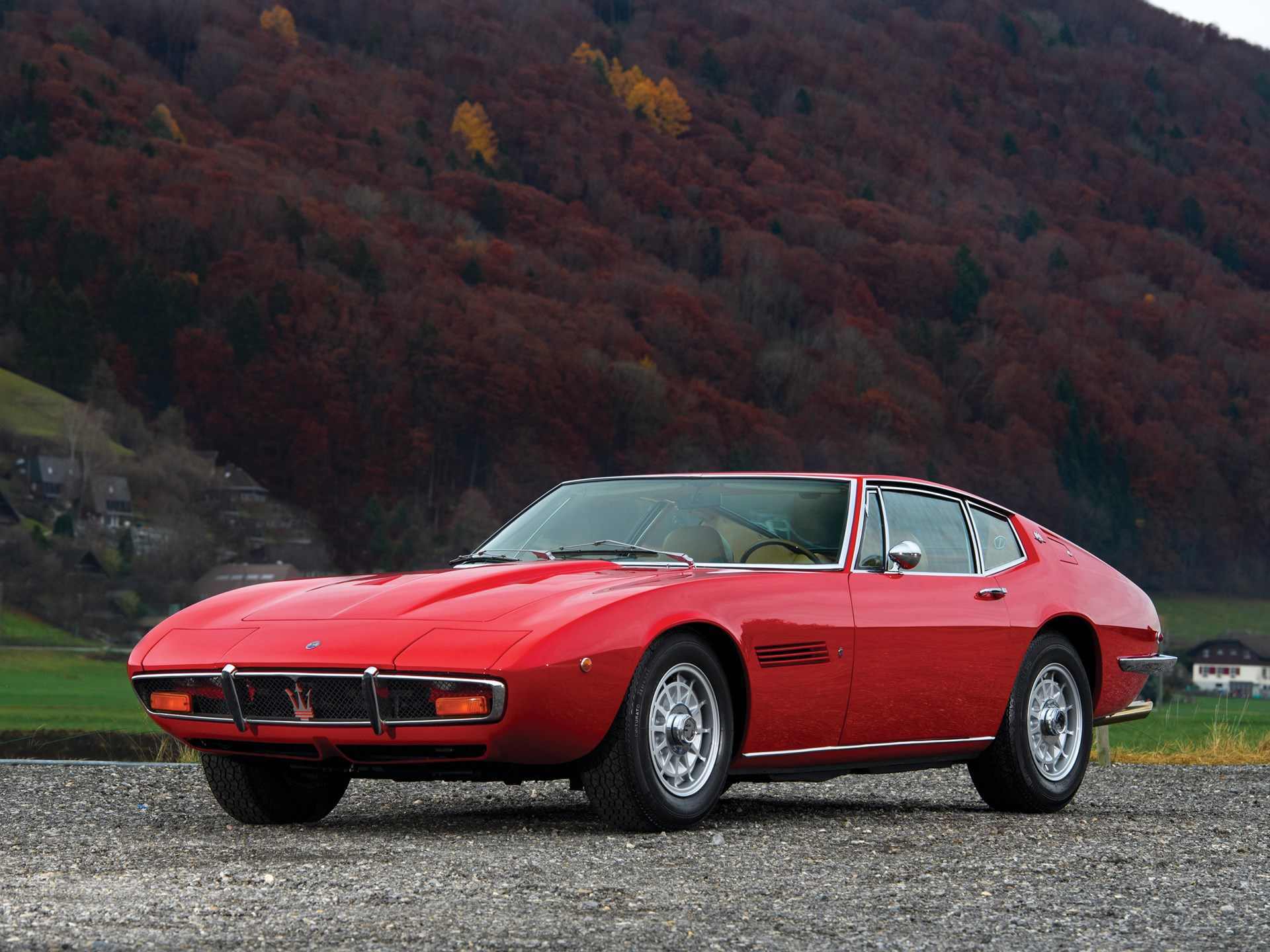 RM Sotheby\u0027s , 1972 Maserati Ghibli SS 4.9 Coupe by Ghia