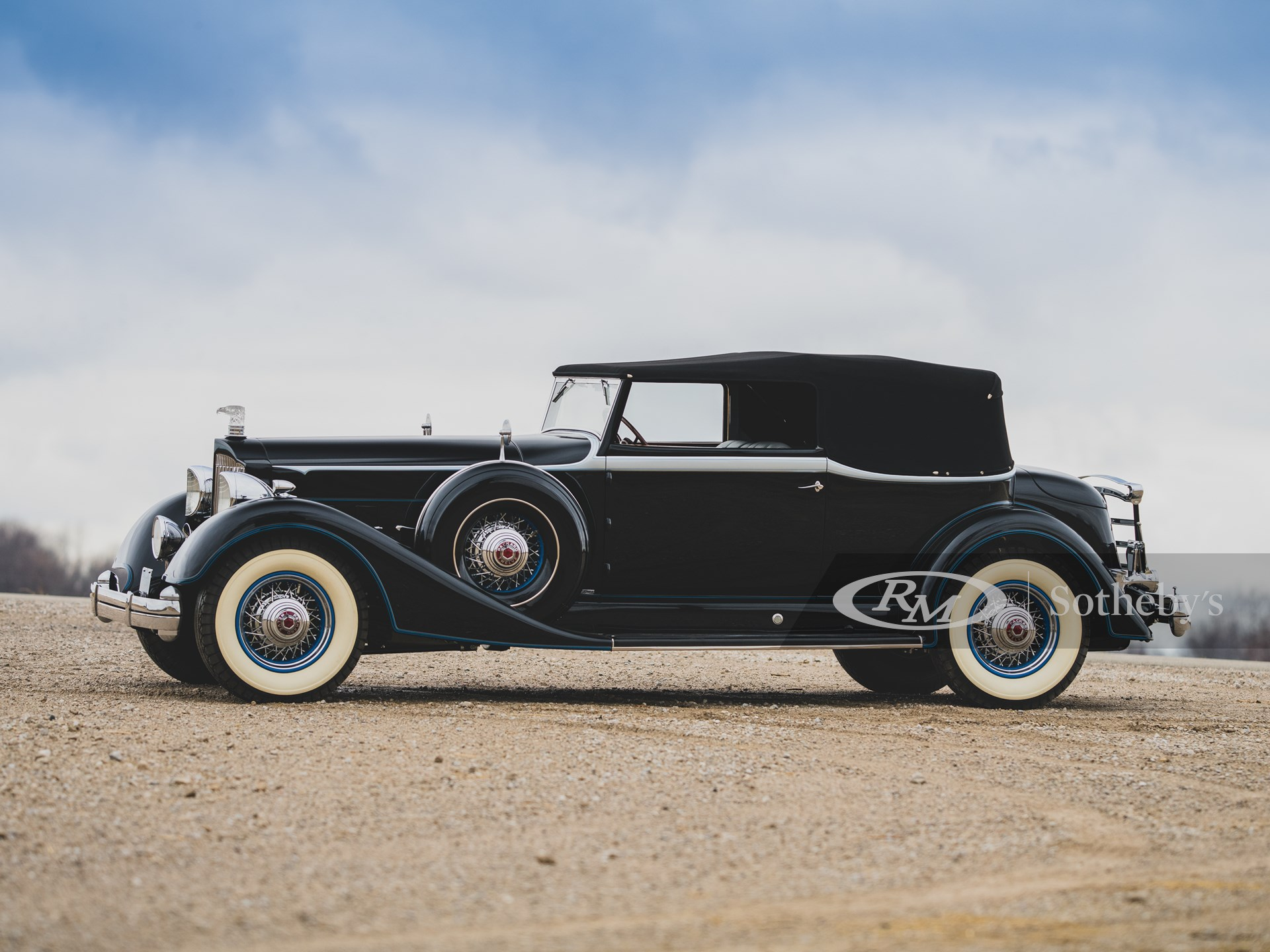 1934 Packard Twelve Convertible Victoria  -