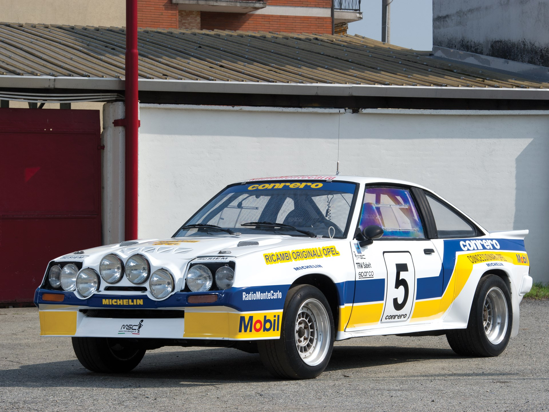 rm sotheby 39 s 1984 opel manta 400 group b rally car. Black Bedroom Furniture Sets. Home Design Ideas