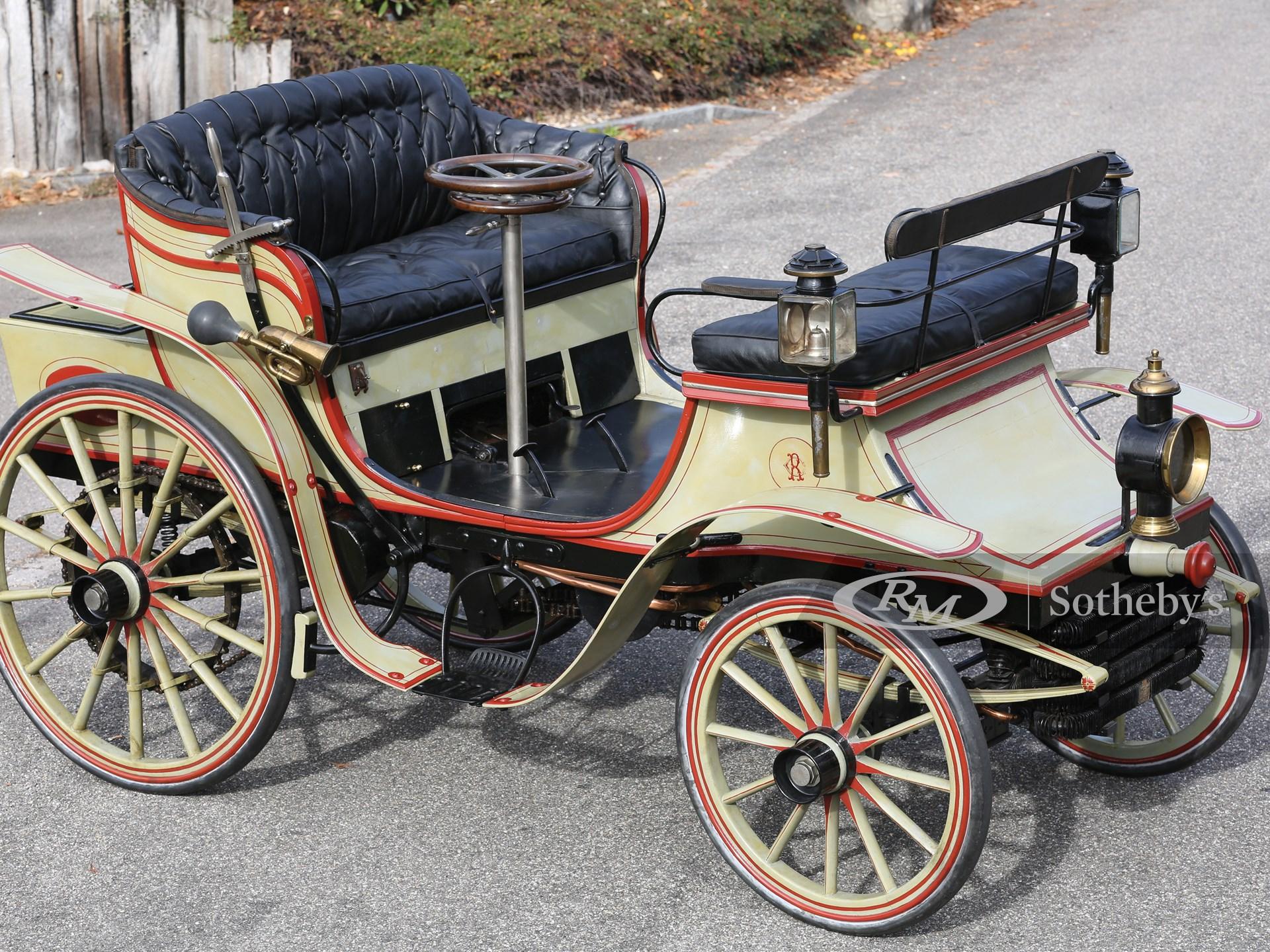 1896 Raynaud Vis-à-Vis Prototype