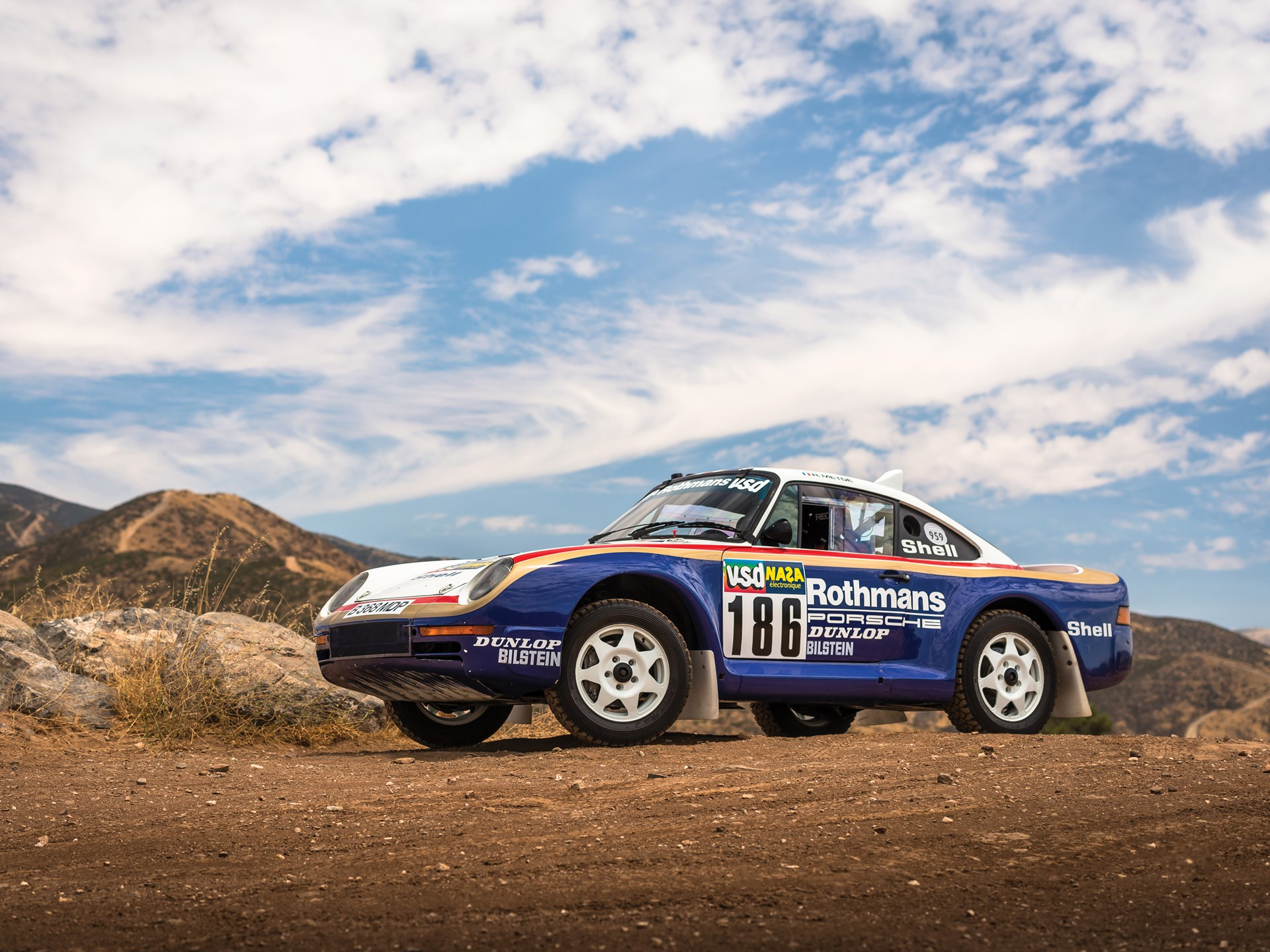1985 Porsche 959 Paris-Dakar