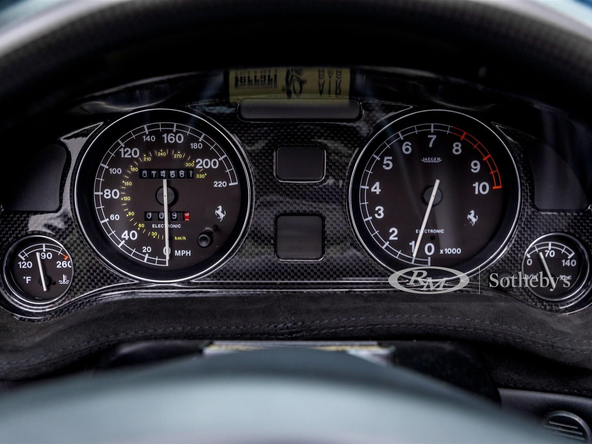 2001 Ferrari 550 Barchetta Pininfarina -