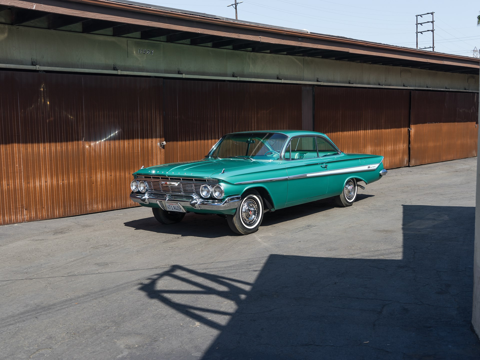 1961 Chevrolet Impala Ss 409 Sport Coupe