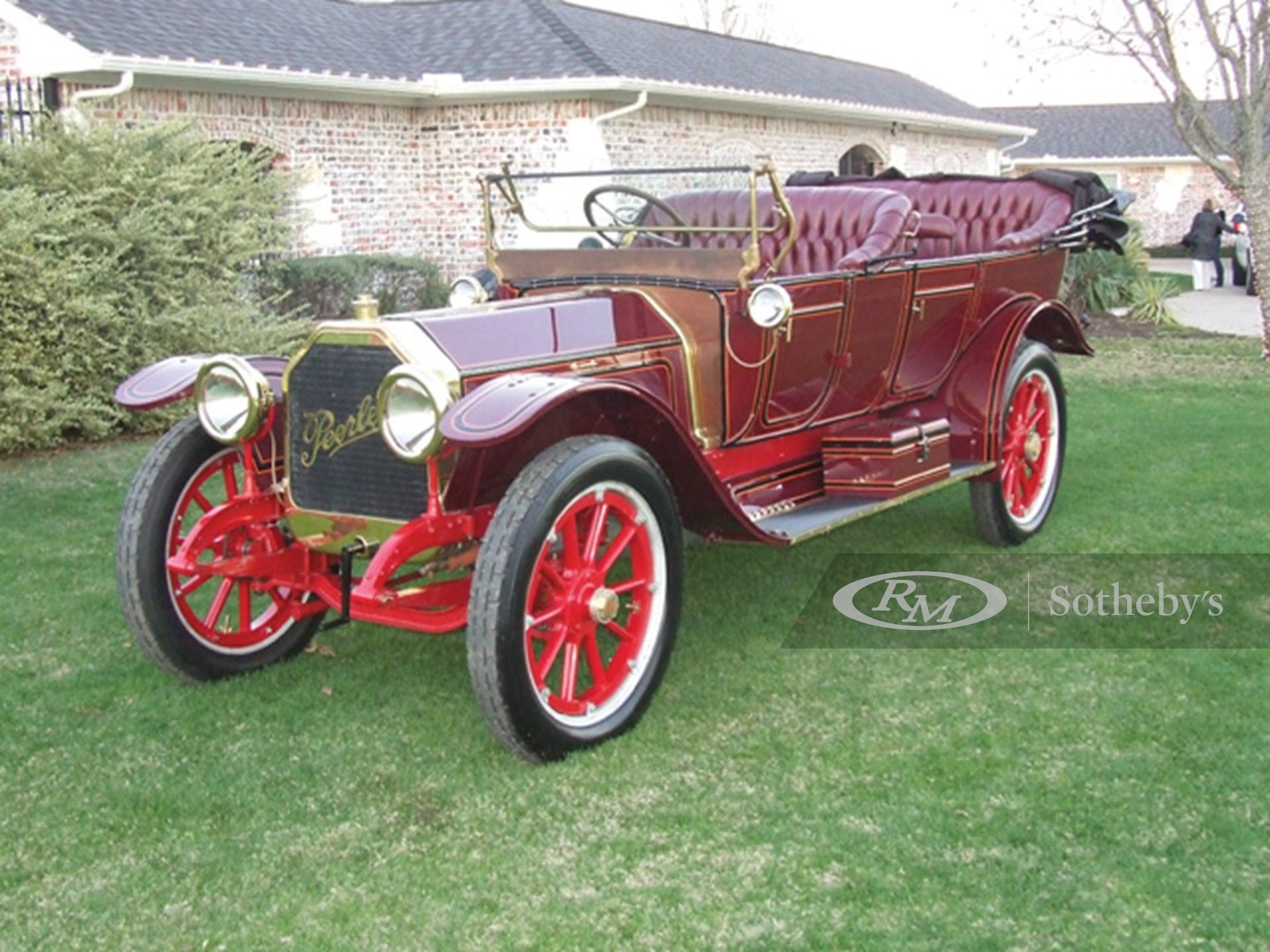 1912 Peerless Model 36 7-Passenger Touring Car